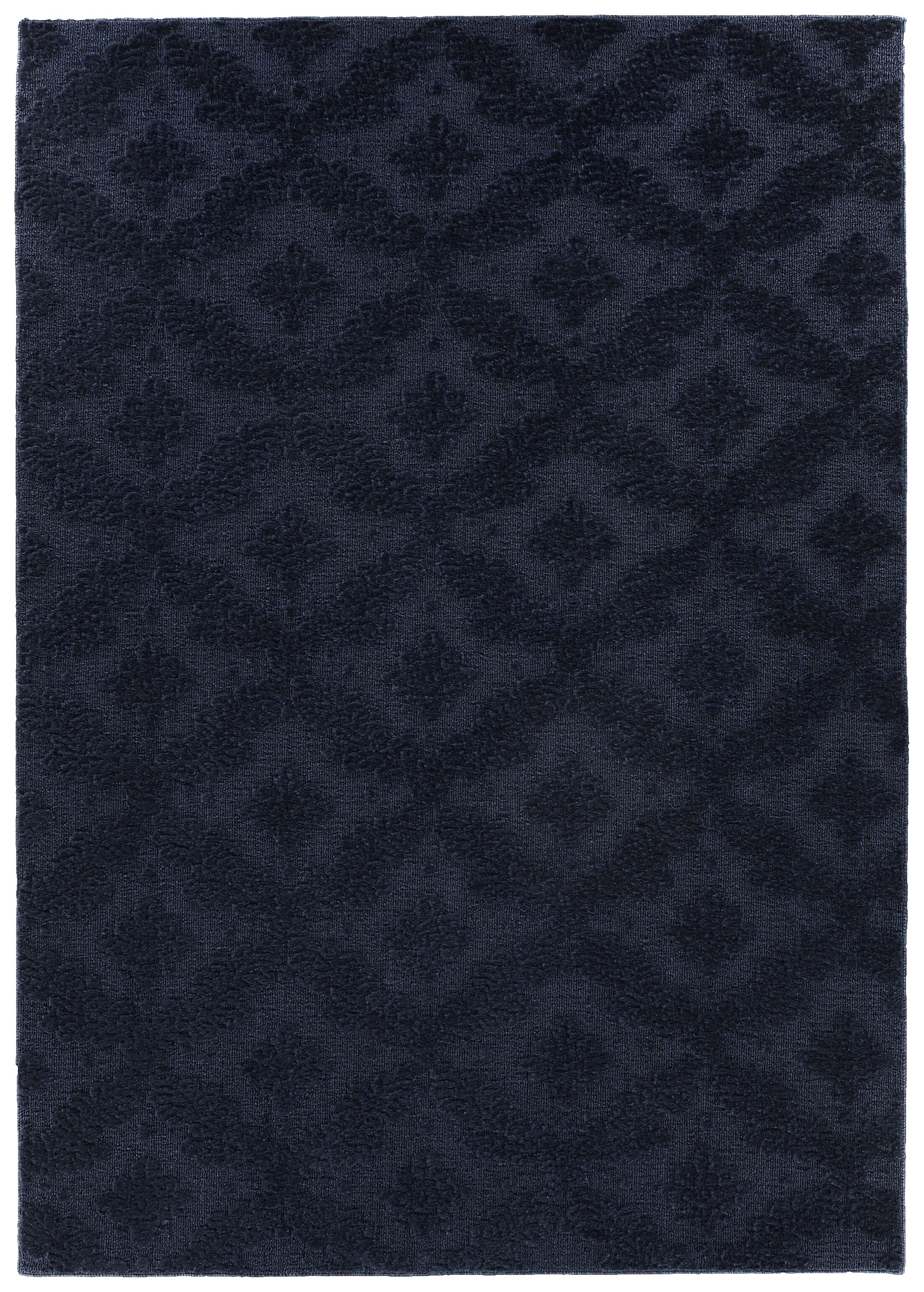 Spafford Blue Area Rug Rug Size: Rectangle 9' x 12'