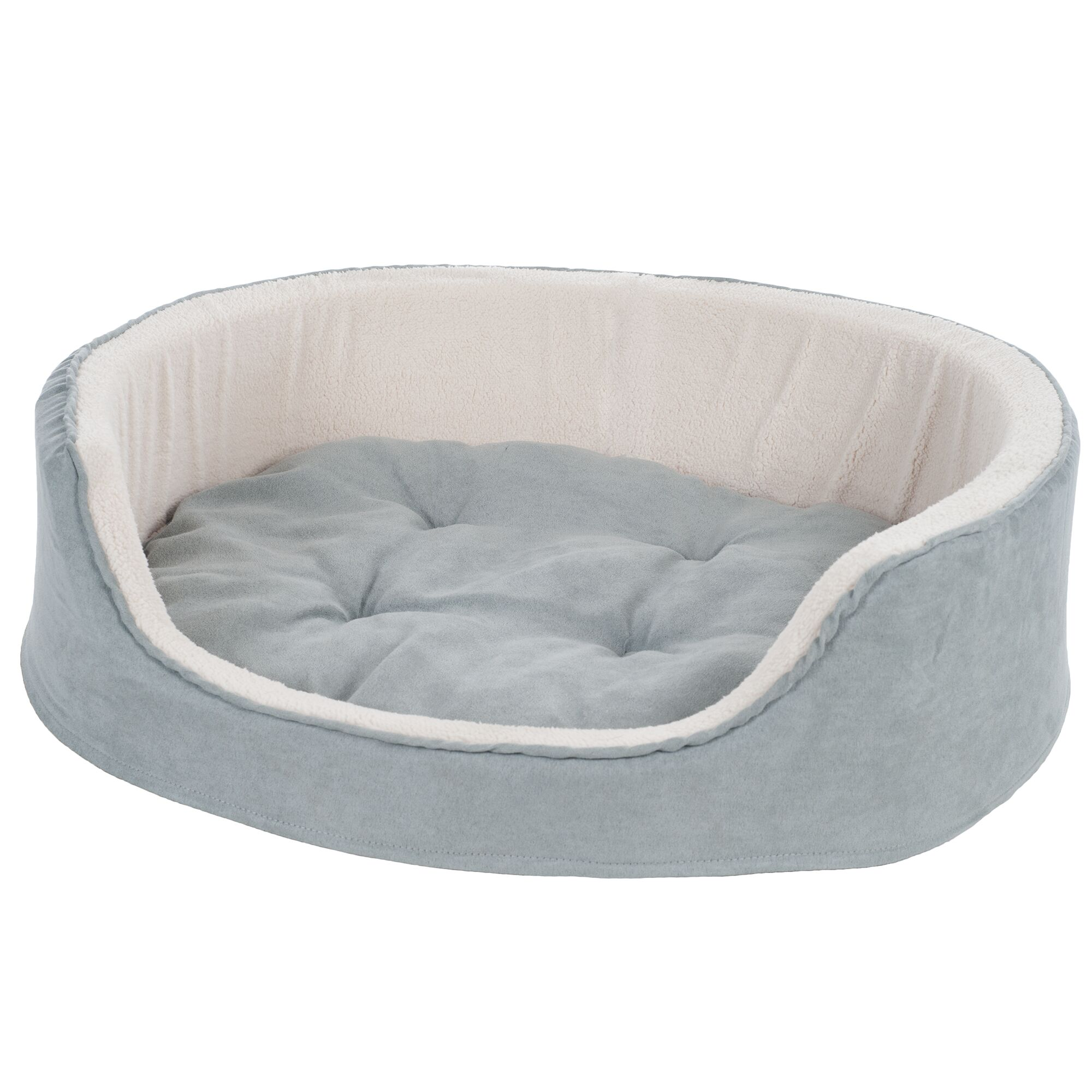 Catherine Suede Cuddle Round Pet Bed Size: Medium (26
