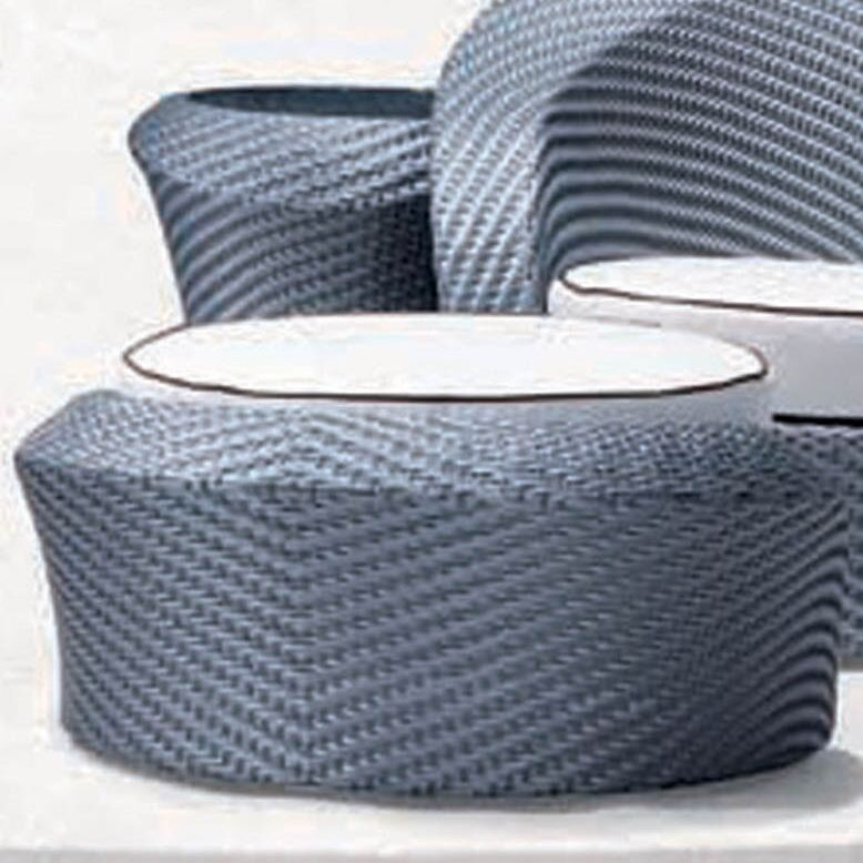 Eclipse Foot Stool with Cushion