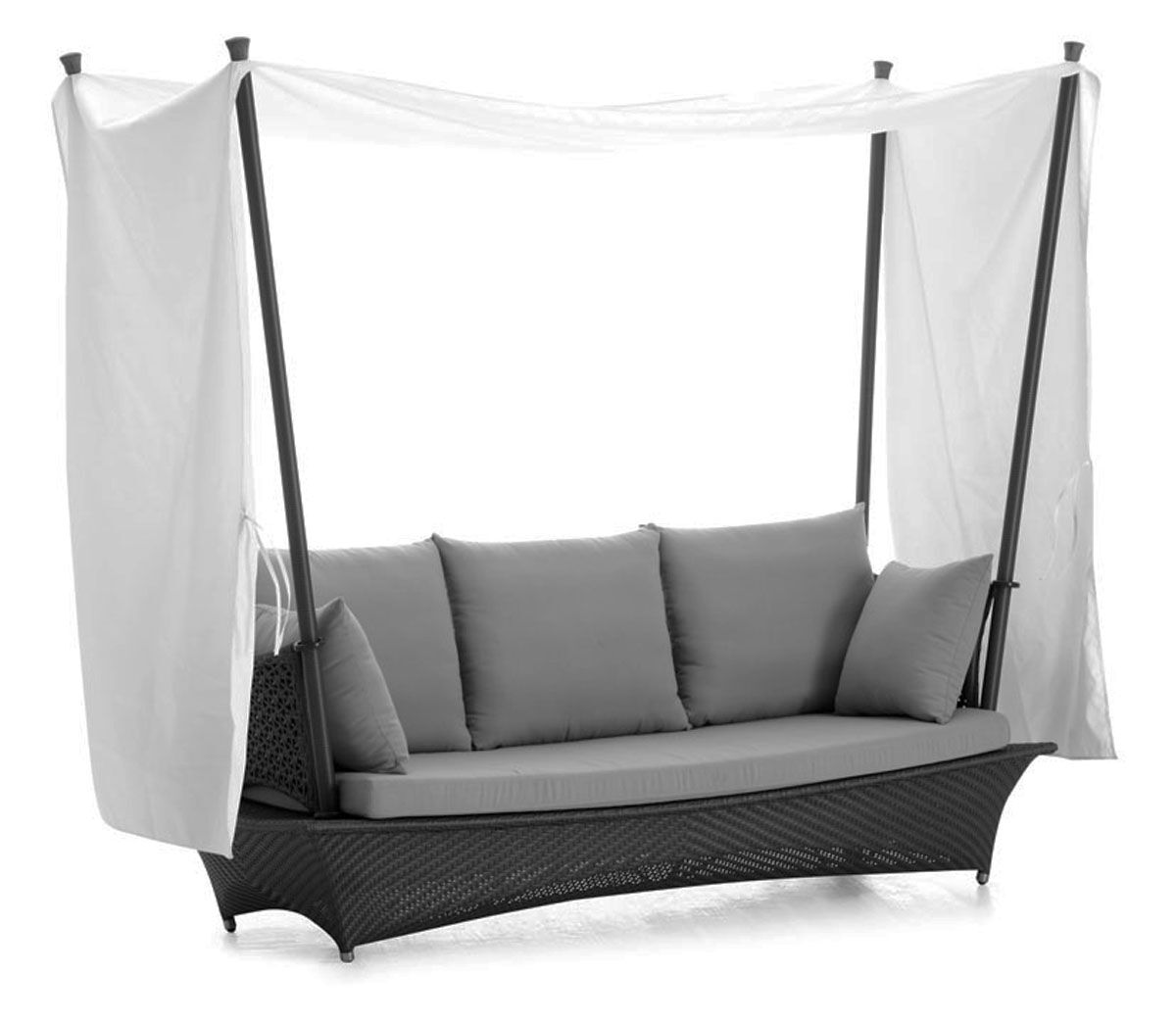 Zen Tent Sofa with Cushions