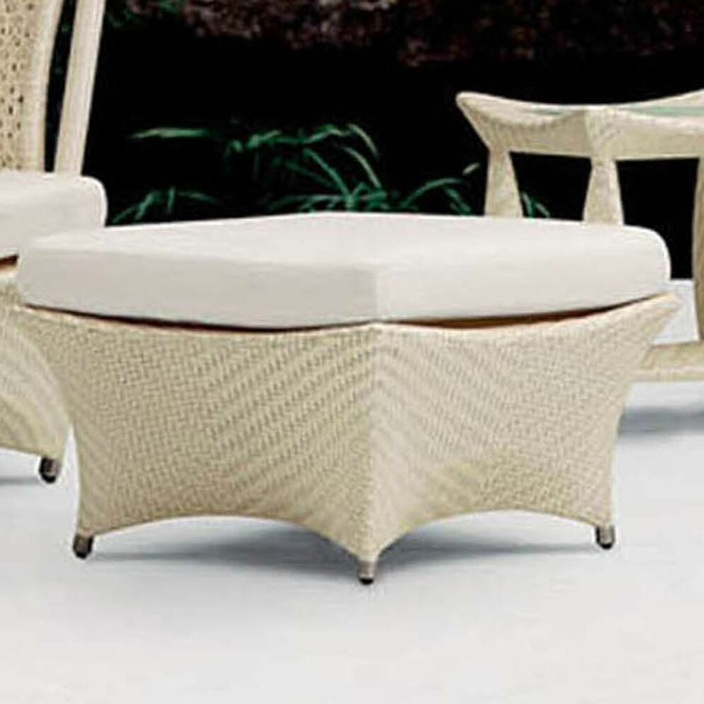Zen Foot Stool with Cushion