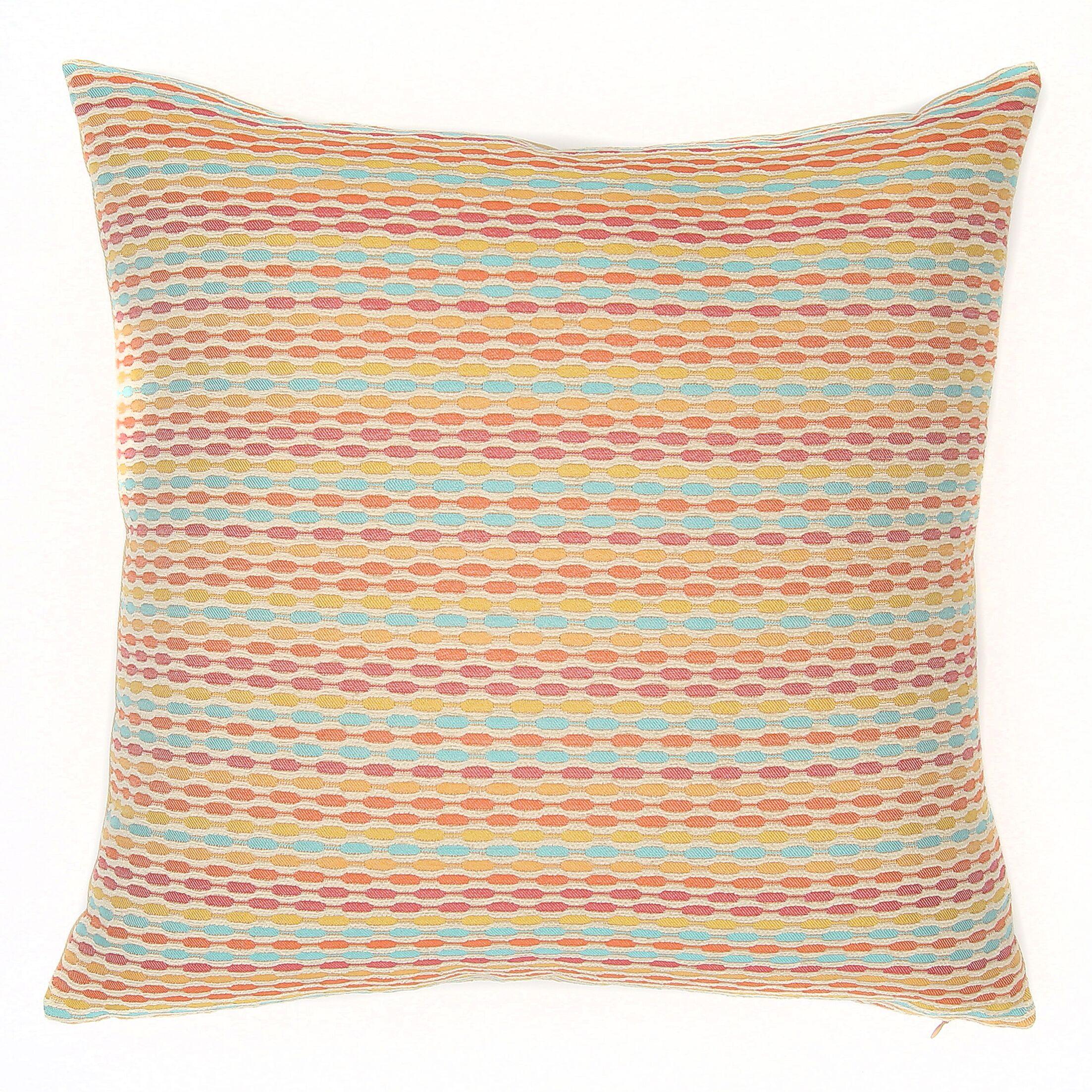 Marbella Confetti Throw Pillow