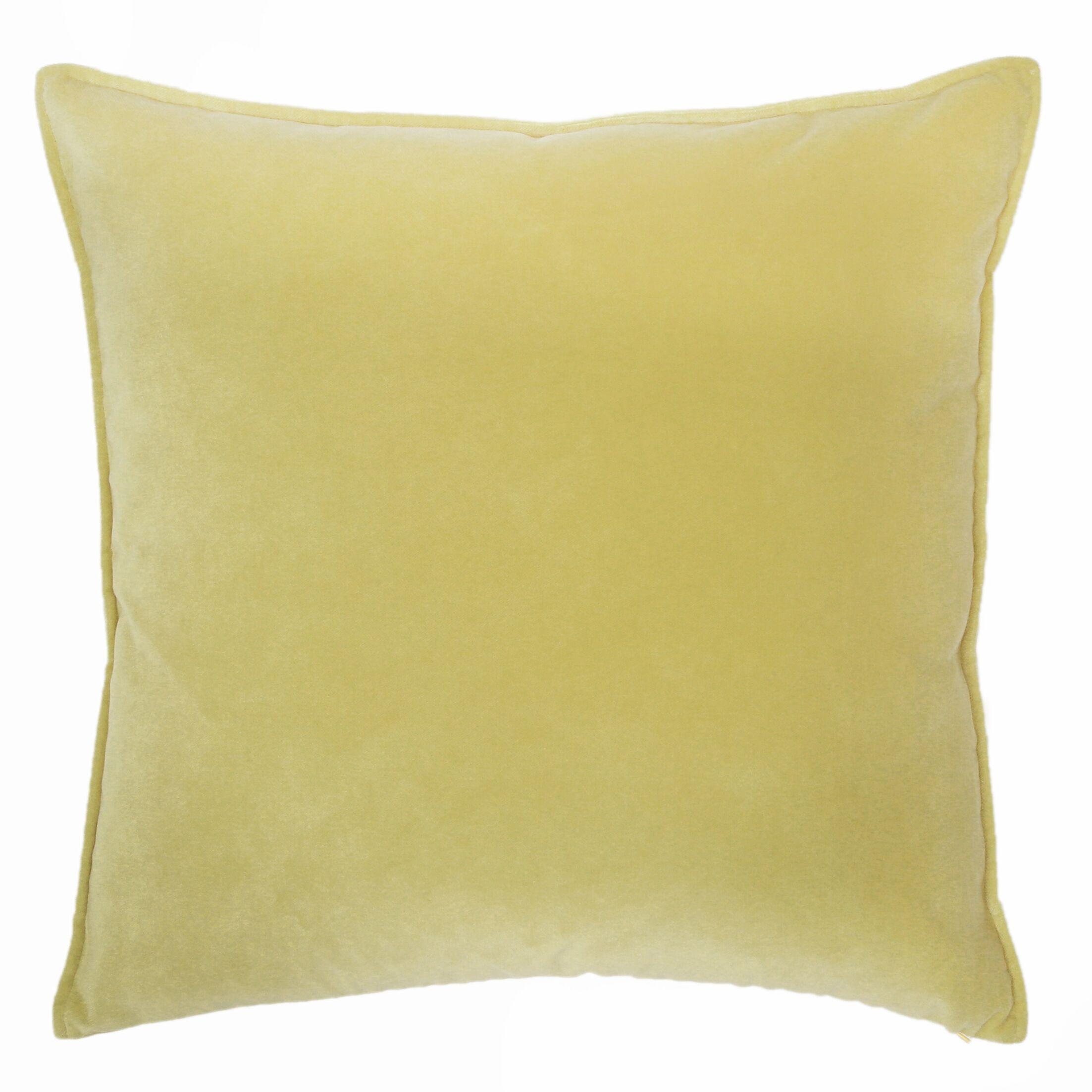 Franklin Throw Pillow Color: Citrus