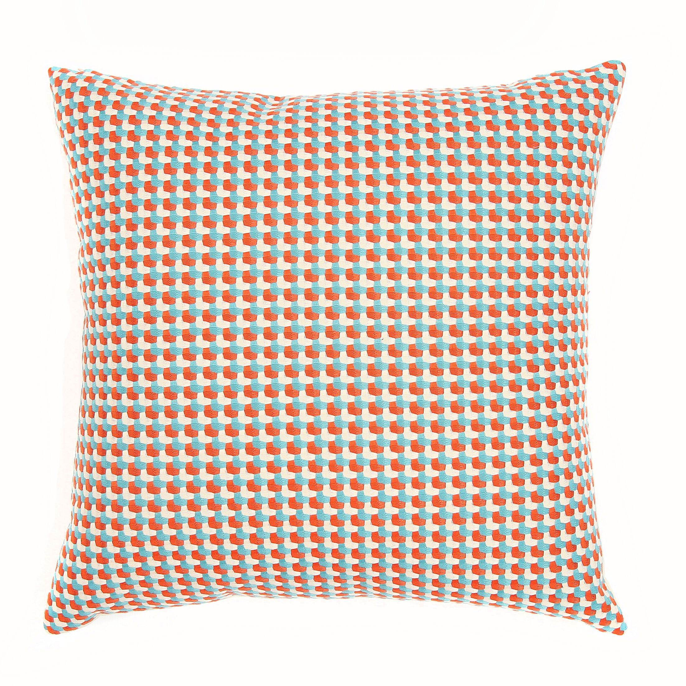 Mendocino Throw Pillow Color: Regatta