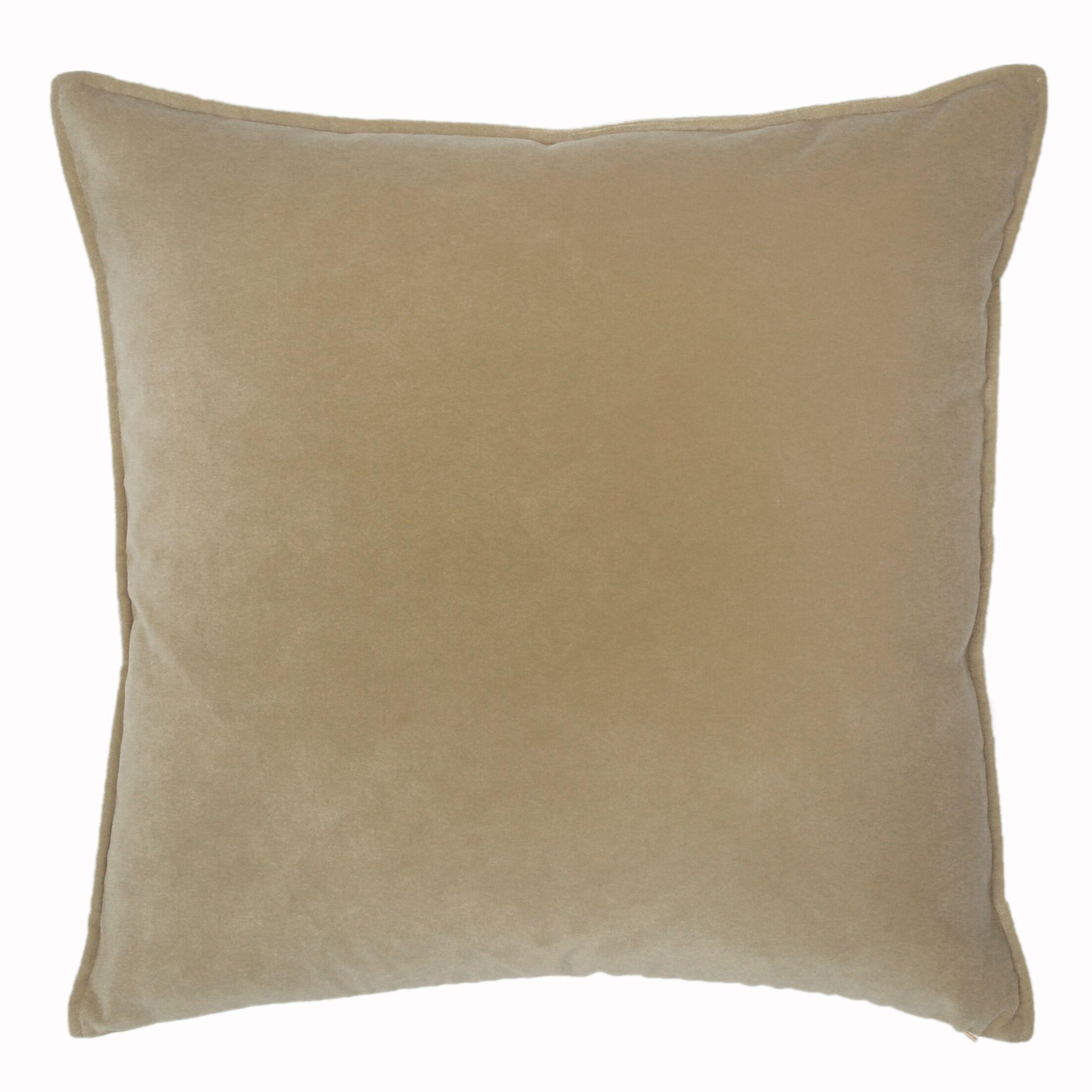 Franklin Throw Pillow Color: Custard