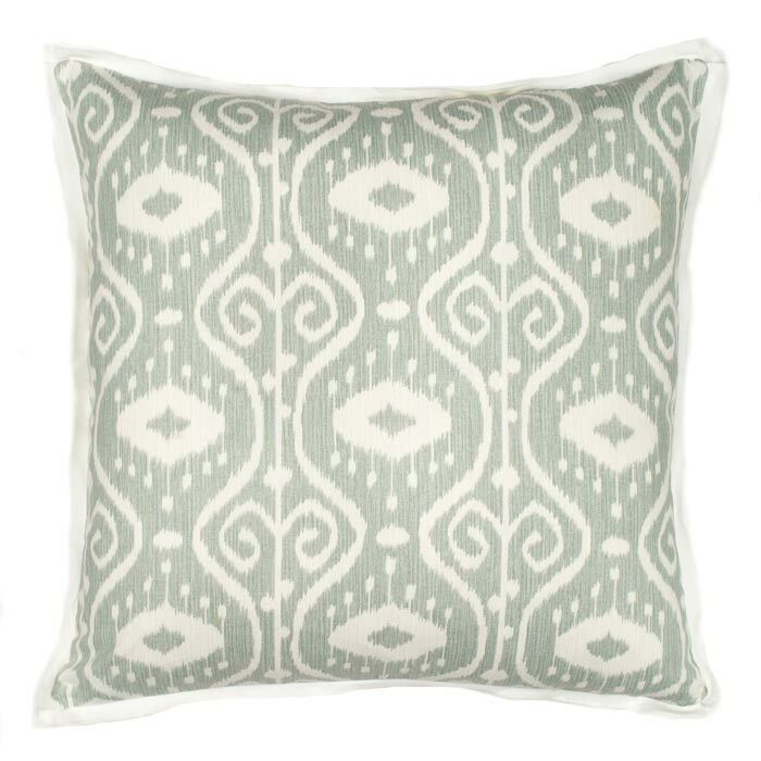Nassau Throw Pillow Color: Stone