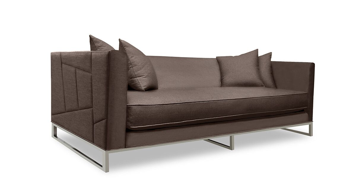 Lawrence Sofa Upholstery: Coffee