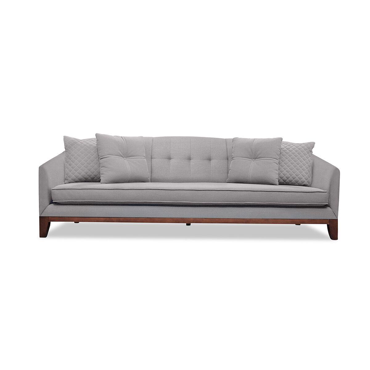 Roy Sofa Upholstery: Gray