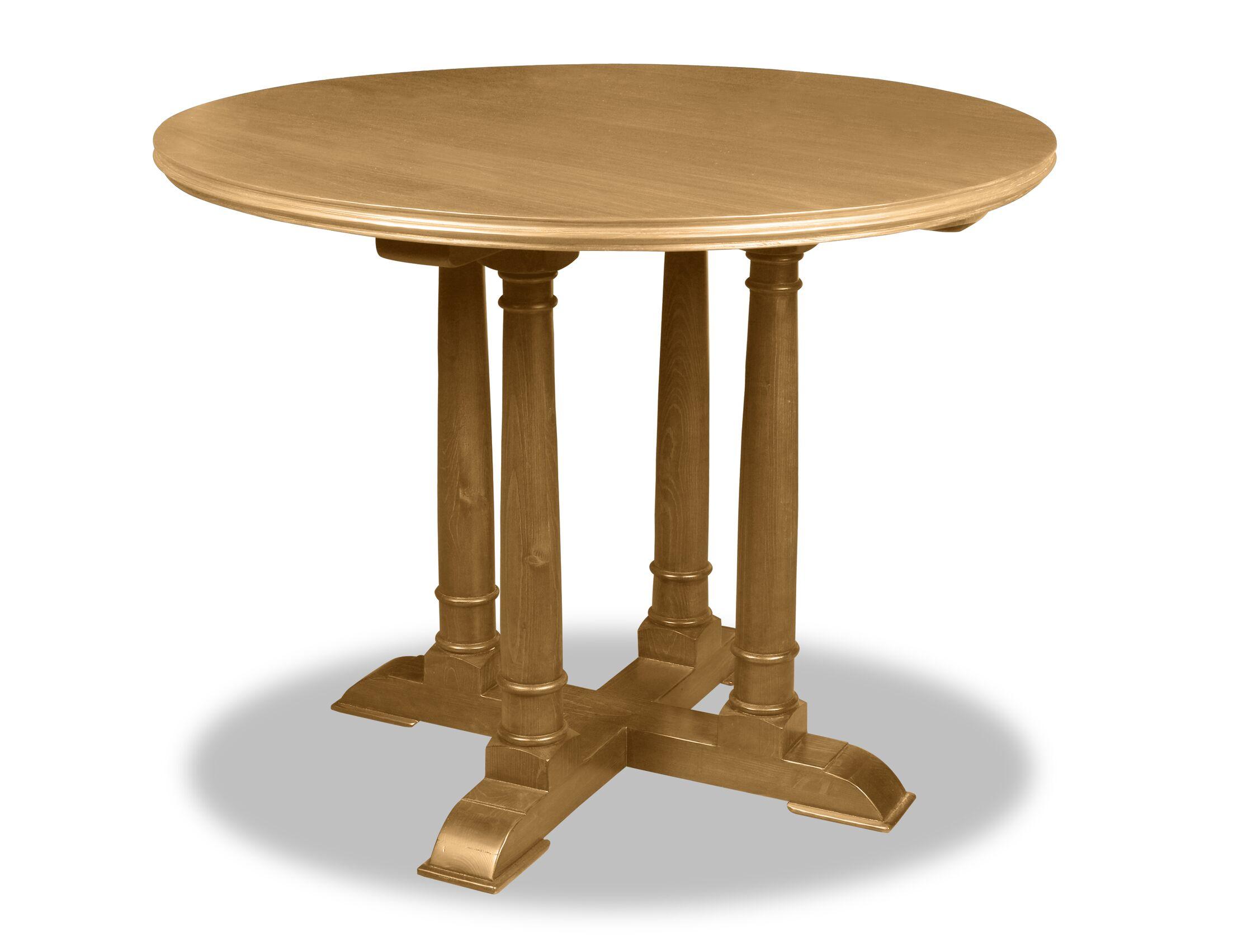 Estevez Pub Table Color: Dry Maple, Size: 42