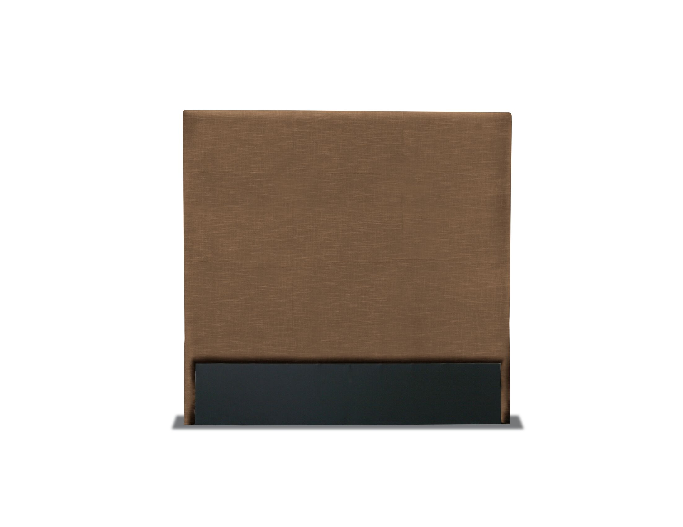 Handley Plain Upholstered Headboard Color: Brown, Size: High Height California King