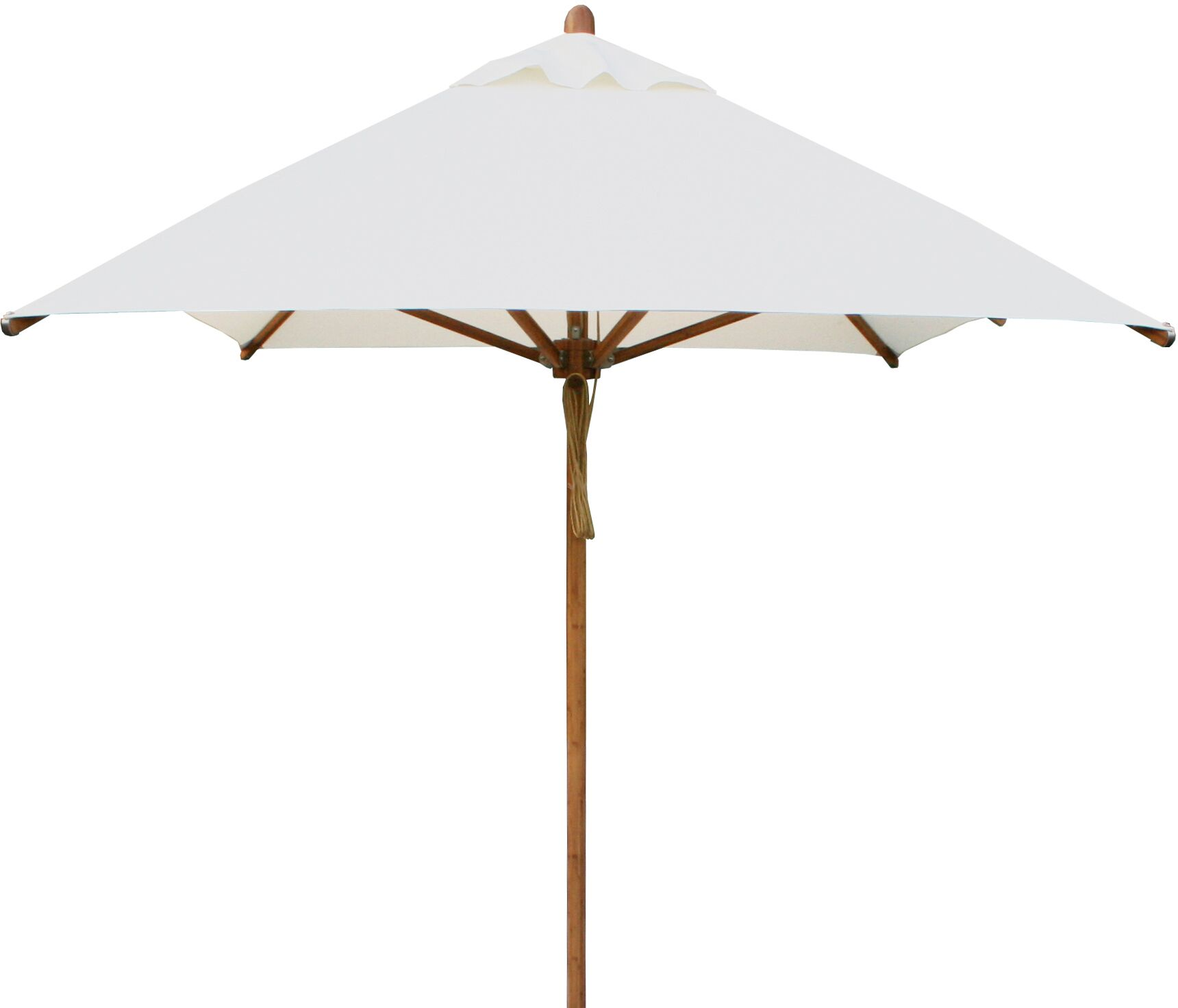 Levante 10' X 6.5' Rectangular Market Umbrella Fabric: Taupe
