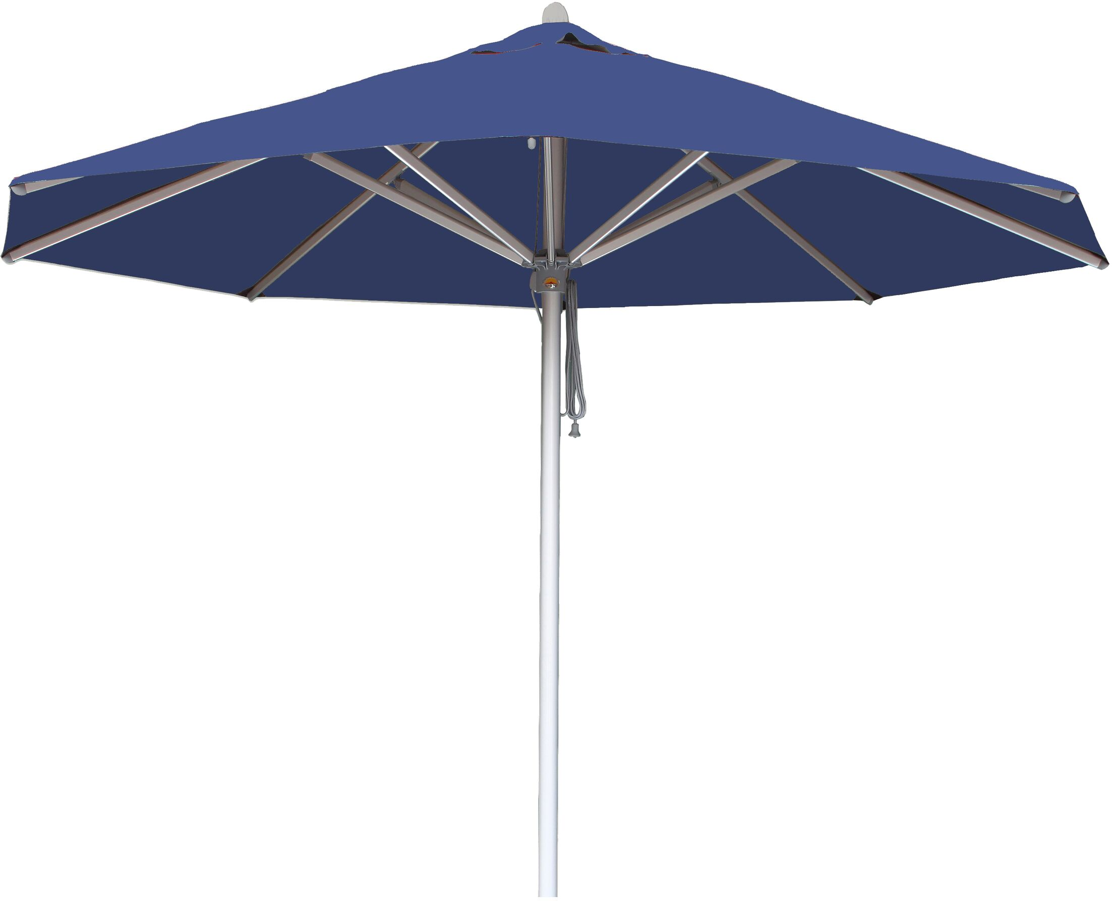 Hurricane 10' Market Umbrella Fabric: Blue