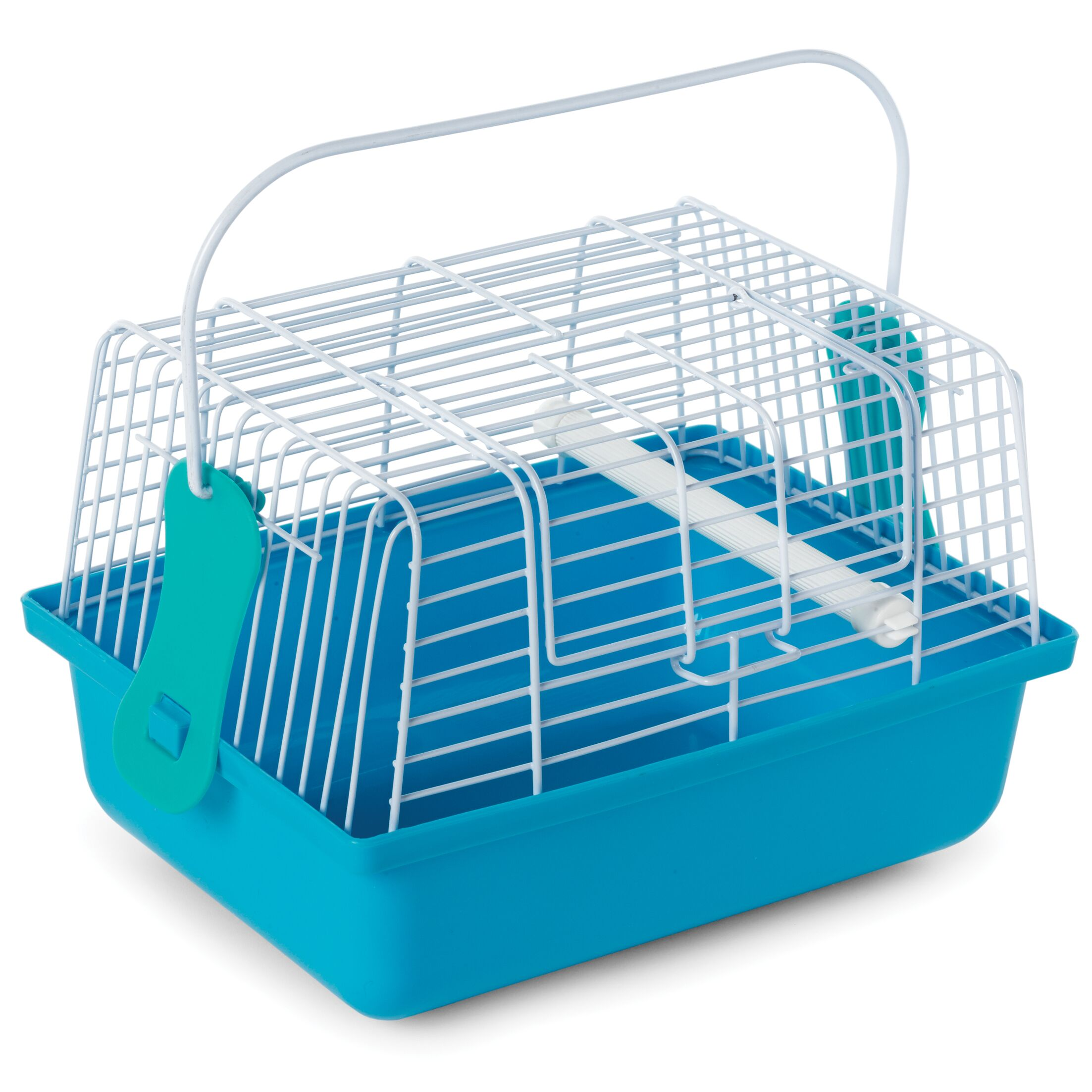 Birds and Small Animals Travel Cage Color: Blue