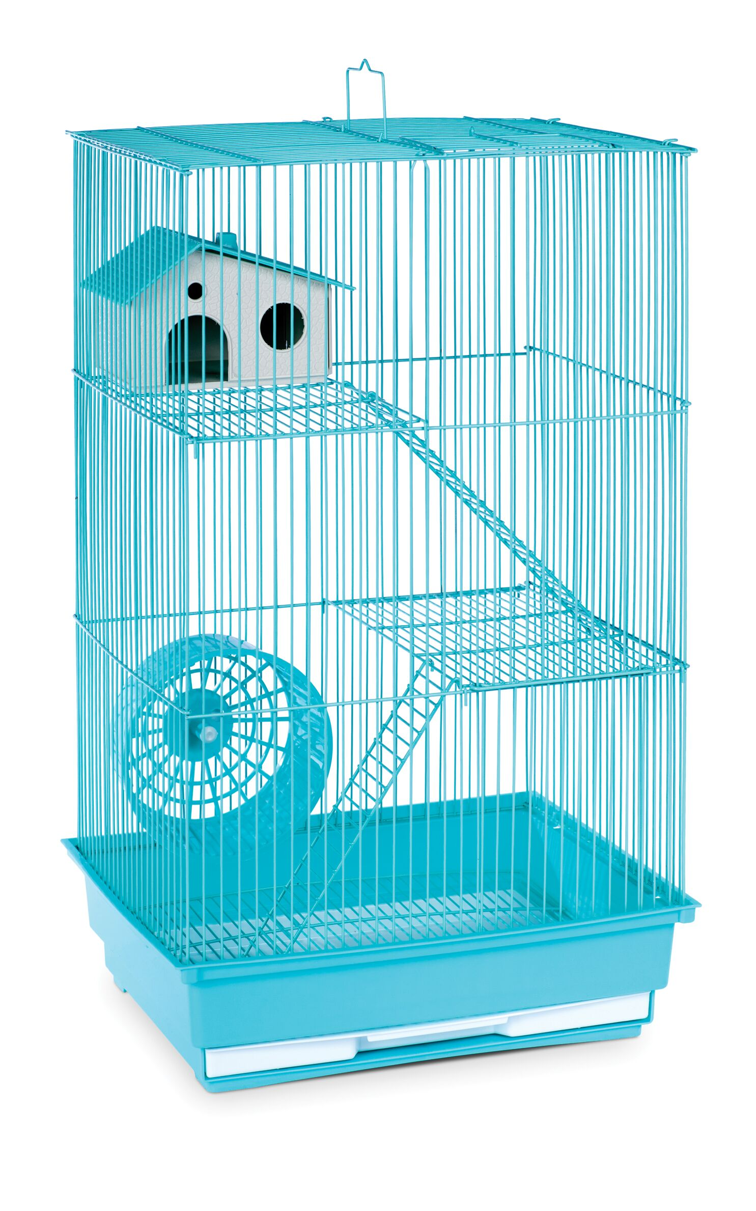 Crystal 3-Story Hamster/Gerbil Home-Mint Green Color: Mint Green