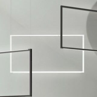 Spigolo  LED  Pendant Finish: White