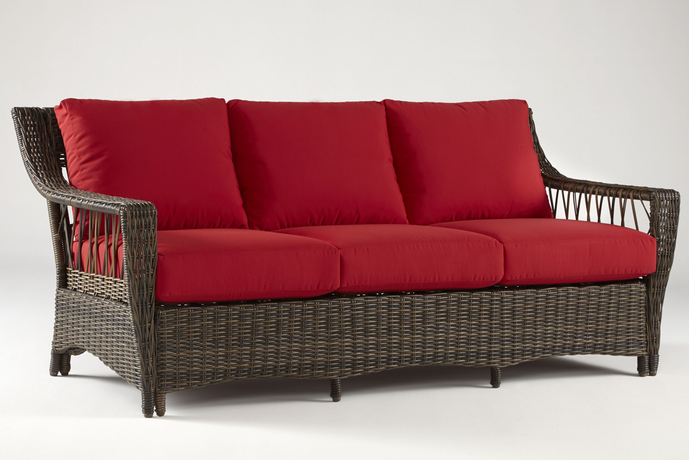 Satterwhite Sofa with Cushions Color: Cast Silver