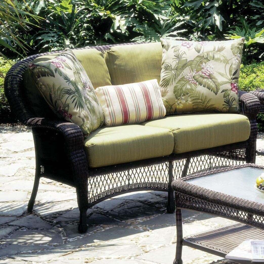 Spurlock Montego Bay Sofa with Cushions Color: Cast Silver