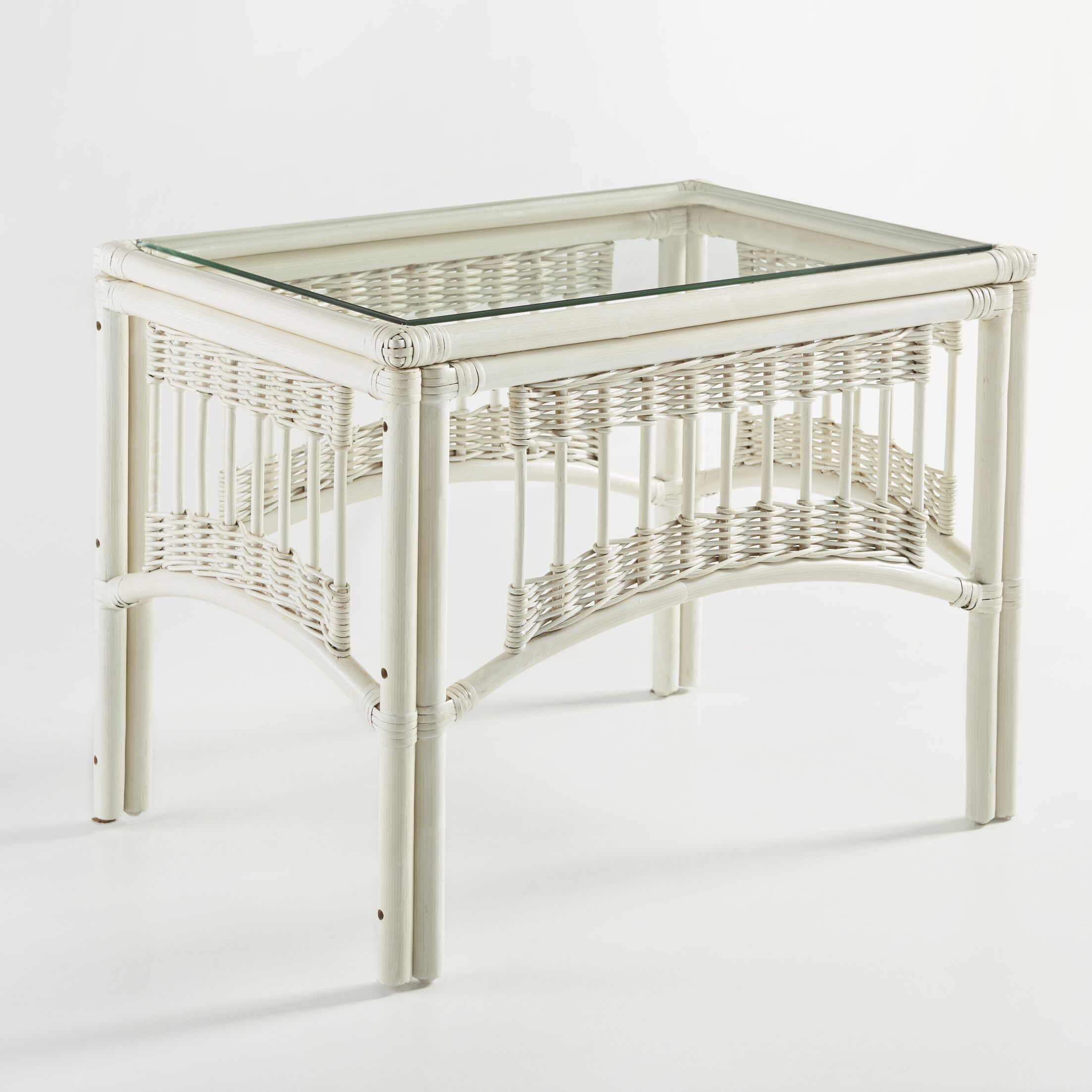 Staats End Table Color: Whitewash