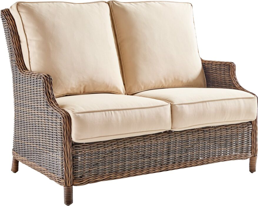Fannin Loveseat with Cushion Color: Pool