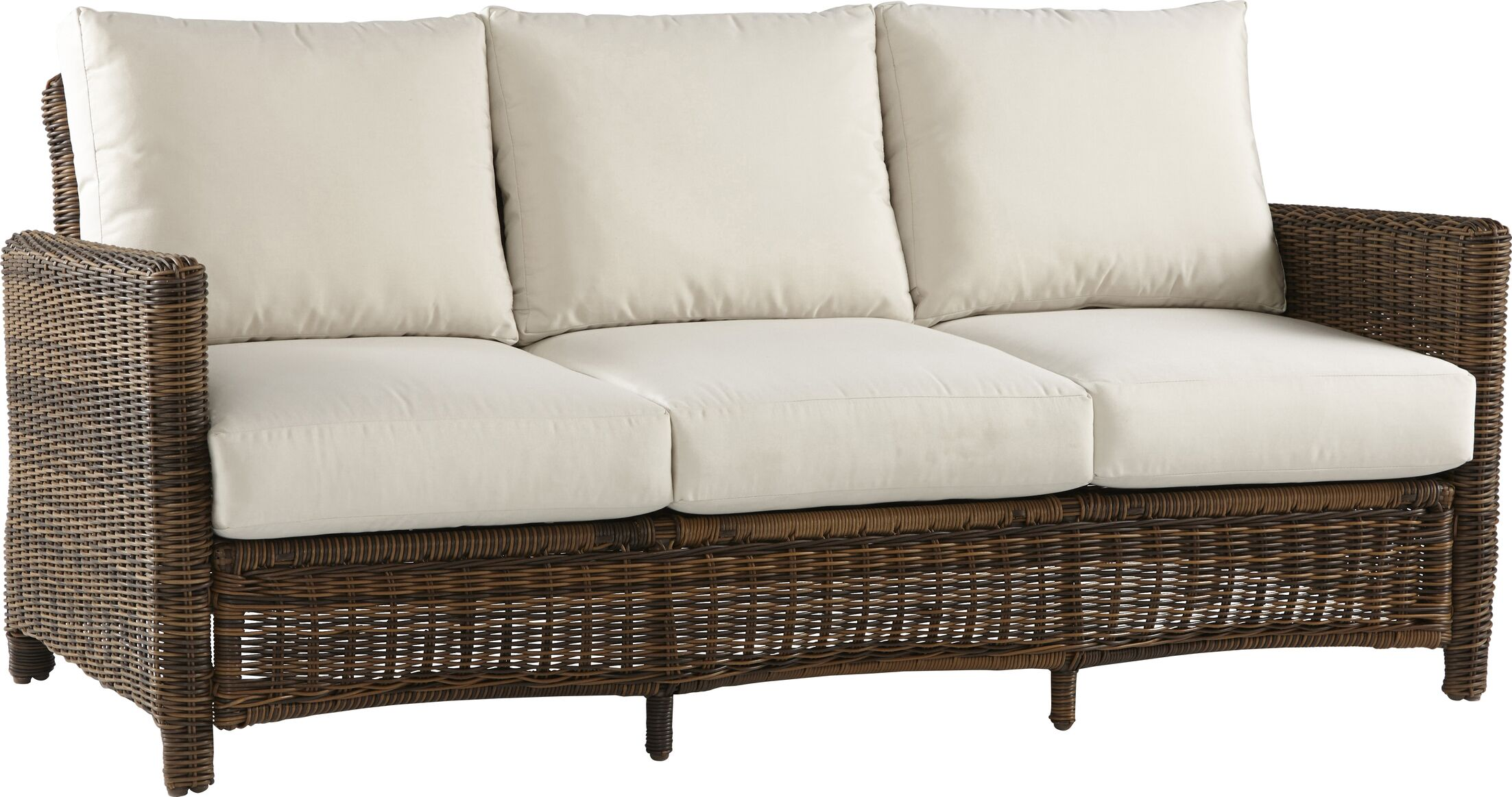 Sprouse Del Ray Sofa with Cushions Color: Cast Silver