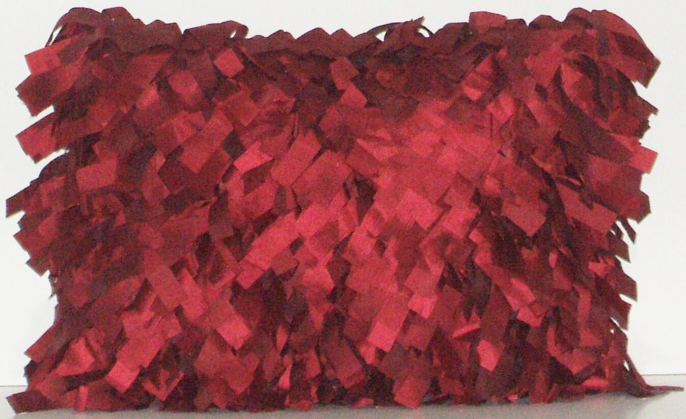 Palmera Laser Lumbar Pillow Color: Merlot