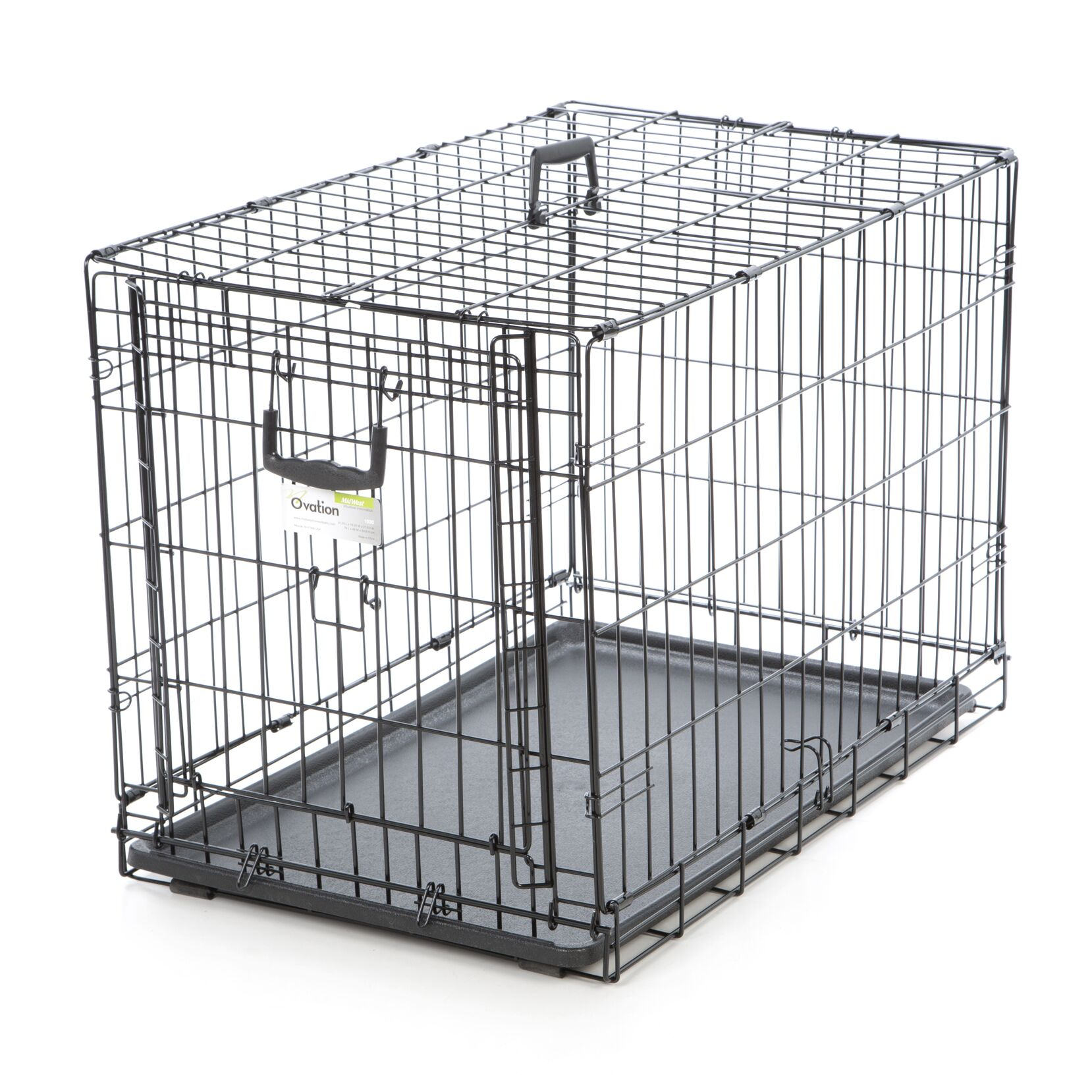 Ovation Single Door Pet Crate Size: 30