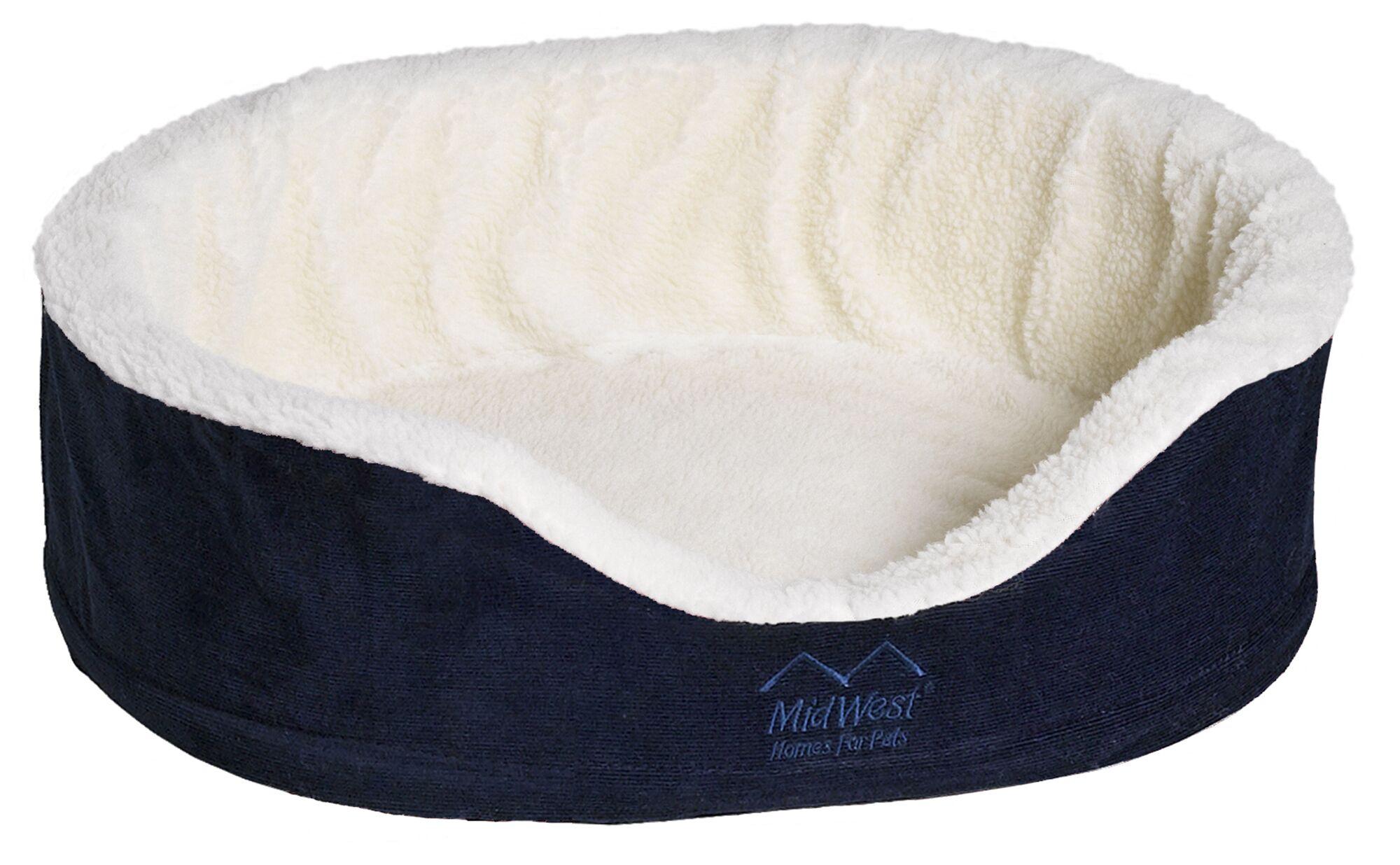 Quiet Time e'Sensuals Orthopedic Bolster Pet Bed Size: Medium (28