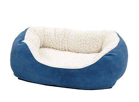 Albert Boutique Cuddle Bed Color: Blue, Size: Small - 22