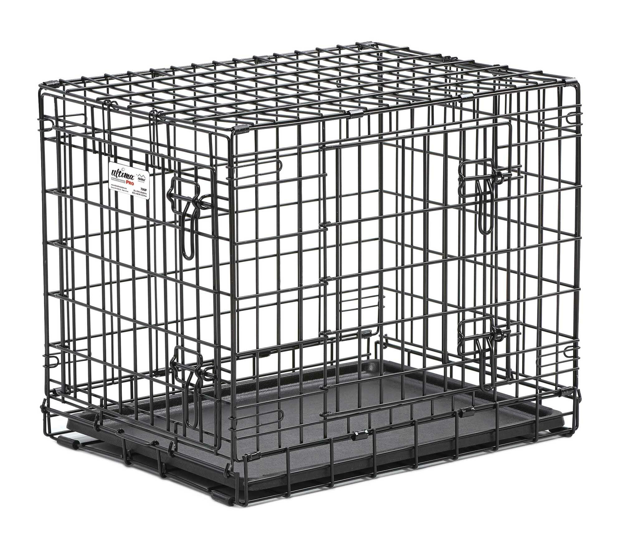 Ultima Pro Fold and Carry Double Door Pet Crate Size: Large (32