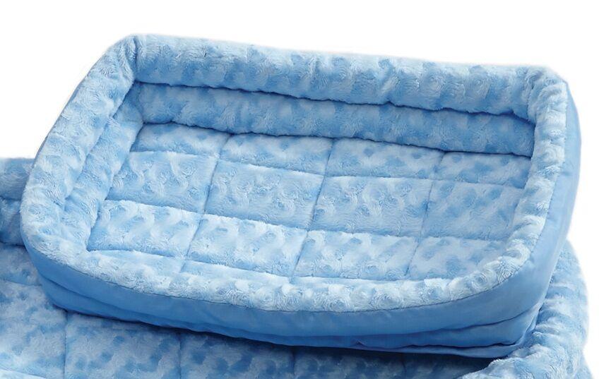 Albert Deluxe Fleece Double Bolster Bed Size: 18