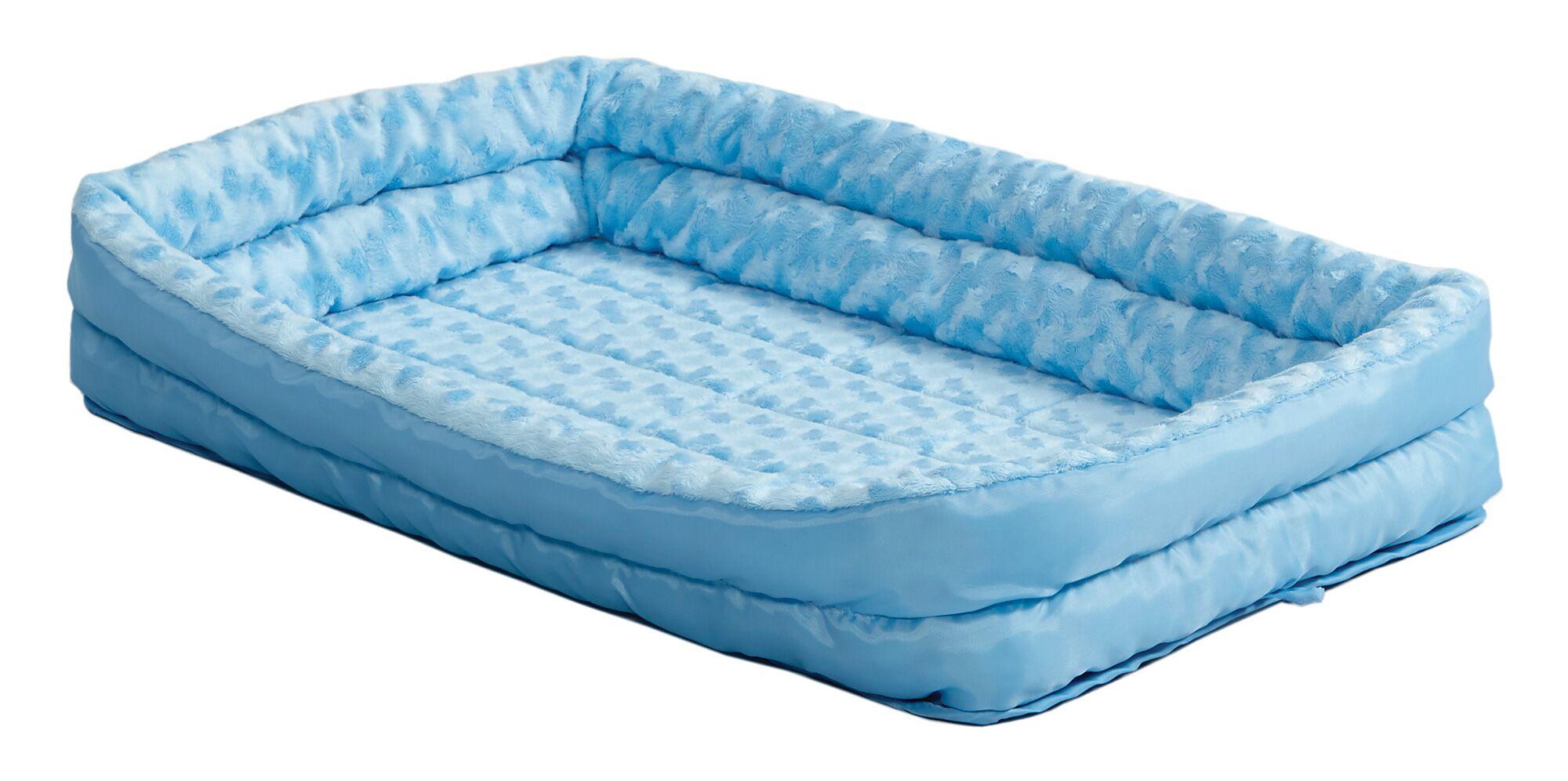 Albert Deluxe Fleece Double Bolster Bed Size: 30
