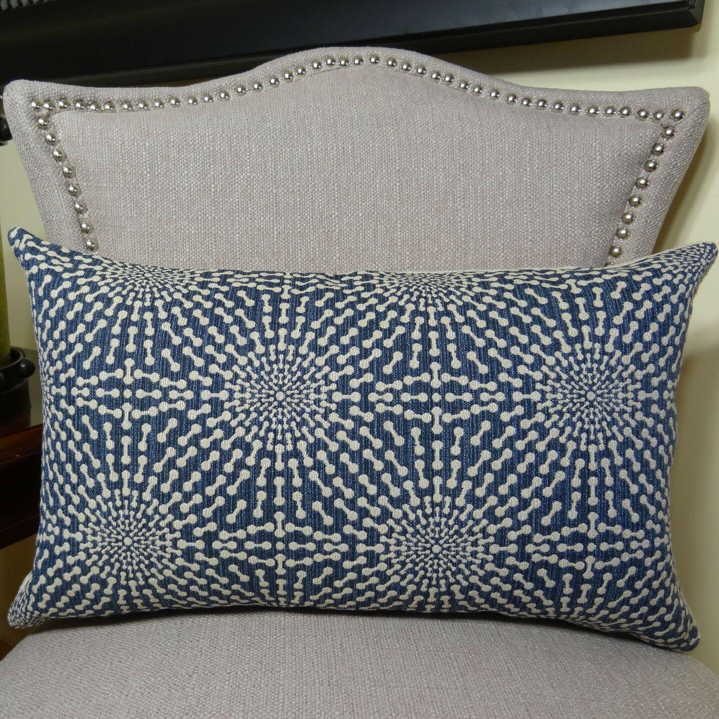 Bluebell Lumbar Pillow Size: 12