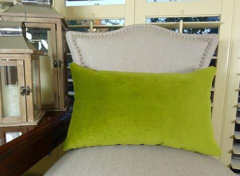 Contentment Grass Cotton Throw Pillow Size: 12
