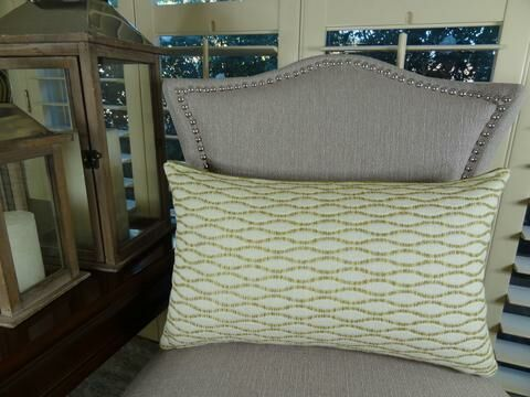 Winding Road Zest Handmade Throw Pillow Size: 12