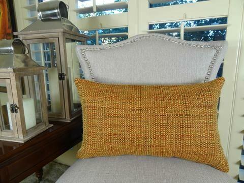 Kosoff Paprika Handmade Throw Pillow Size: 20