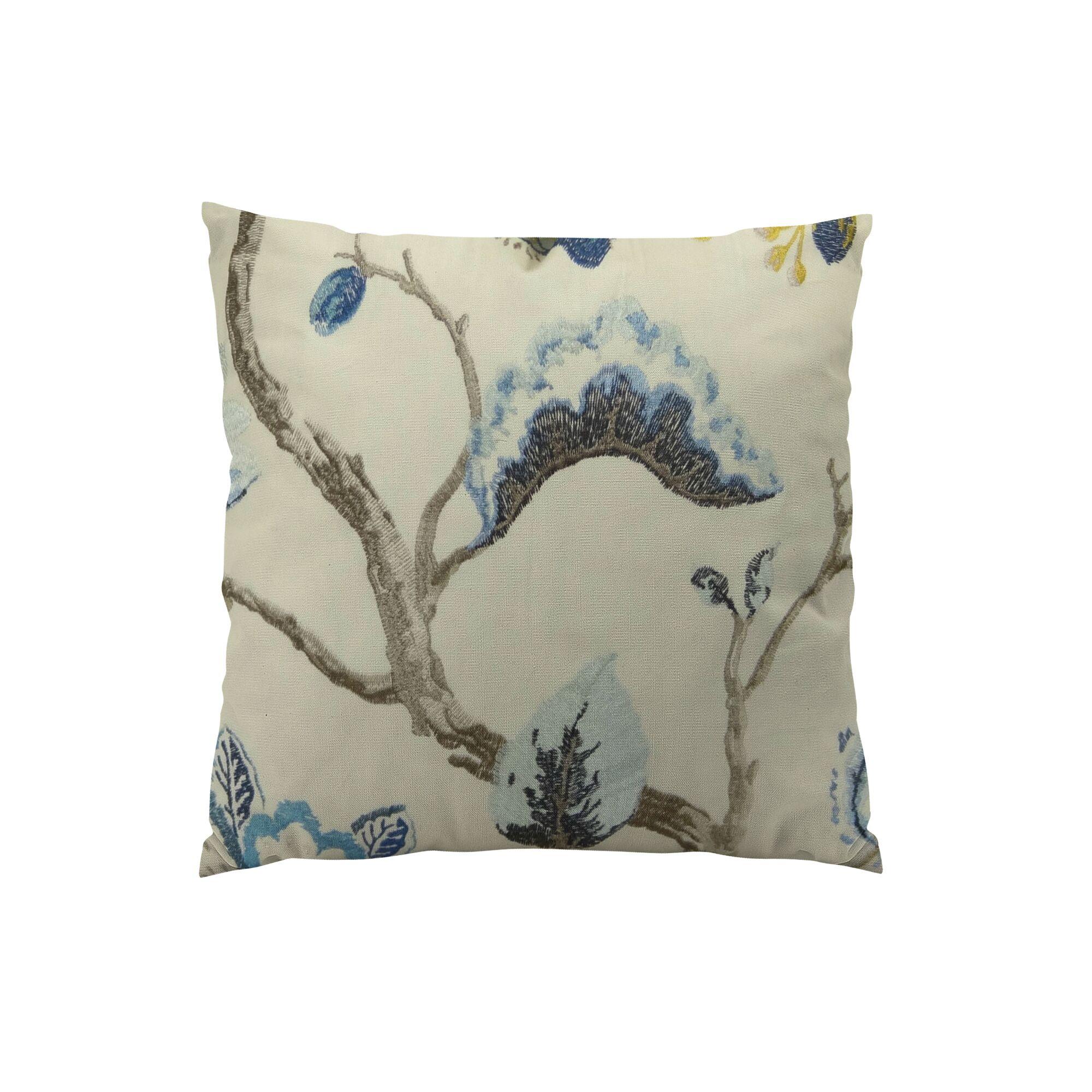 Bloom City Handmade Cotton Throw Pillow Size: 12