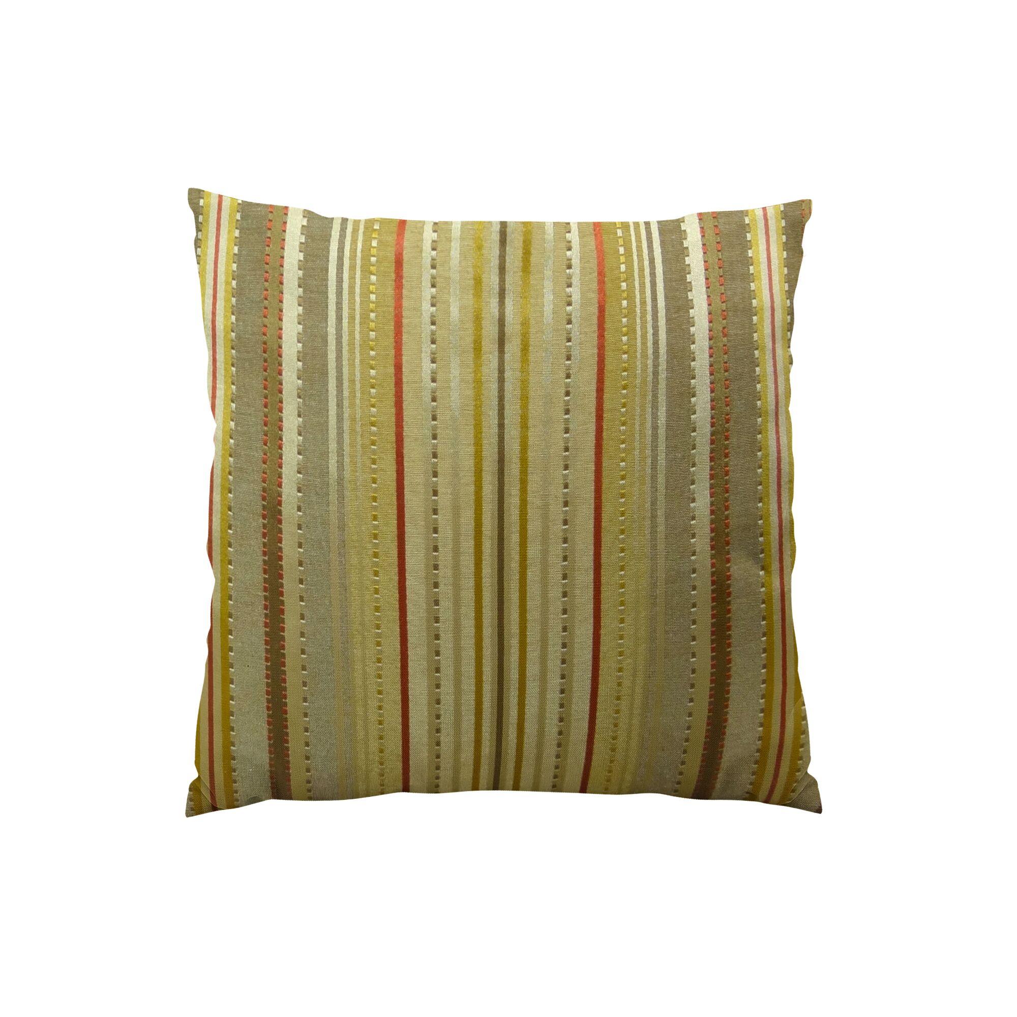 Kentucky Field Handmade Throw Pillow Size: 12