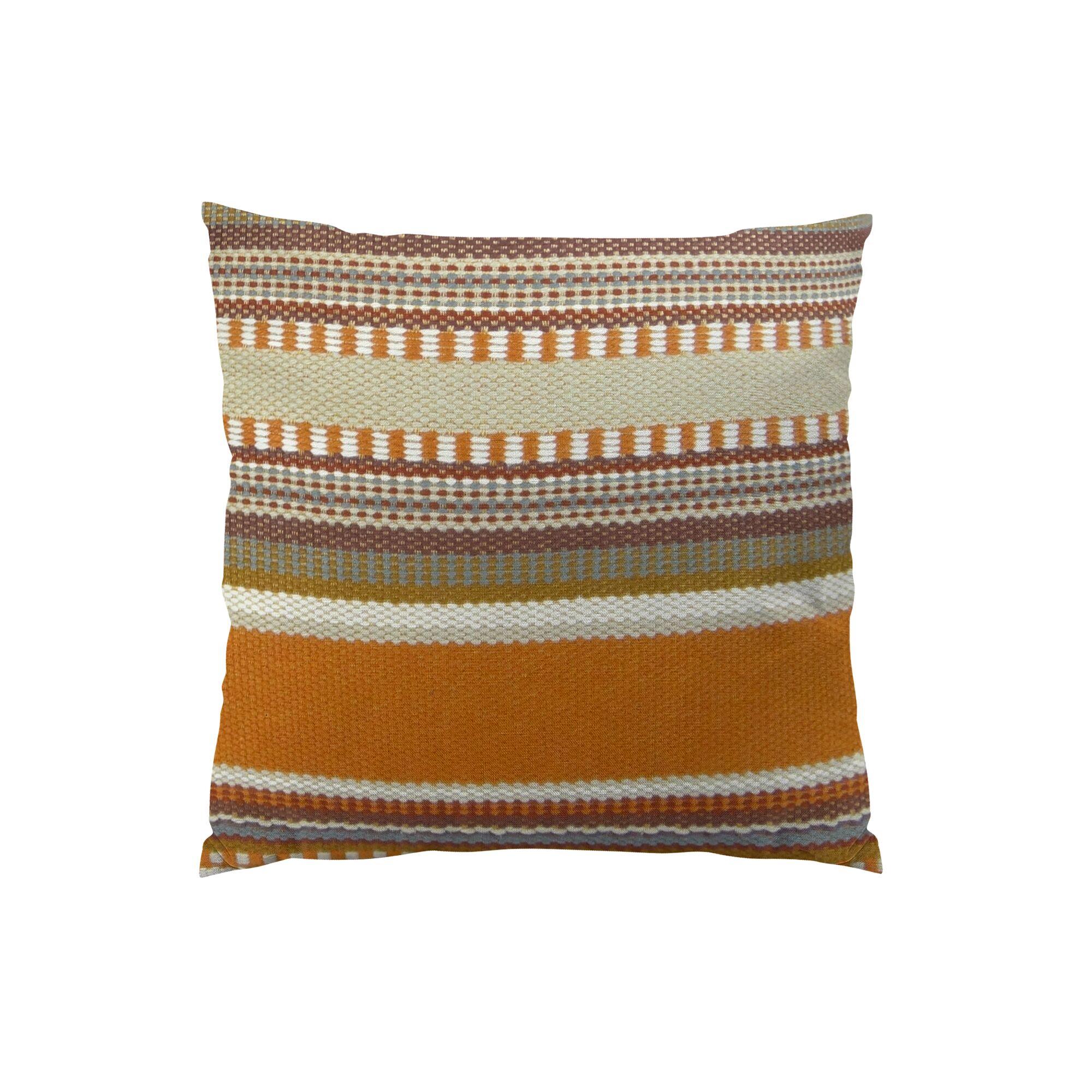 Chic Stripe Handmade Throw Pillow Size: 22