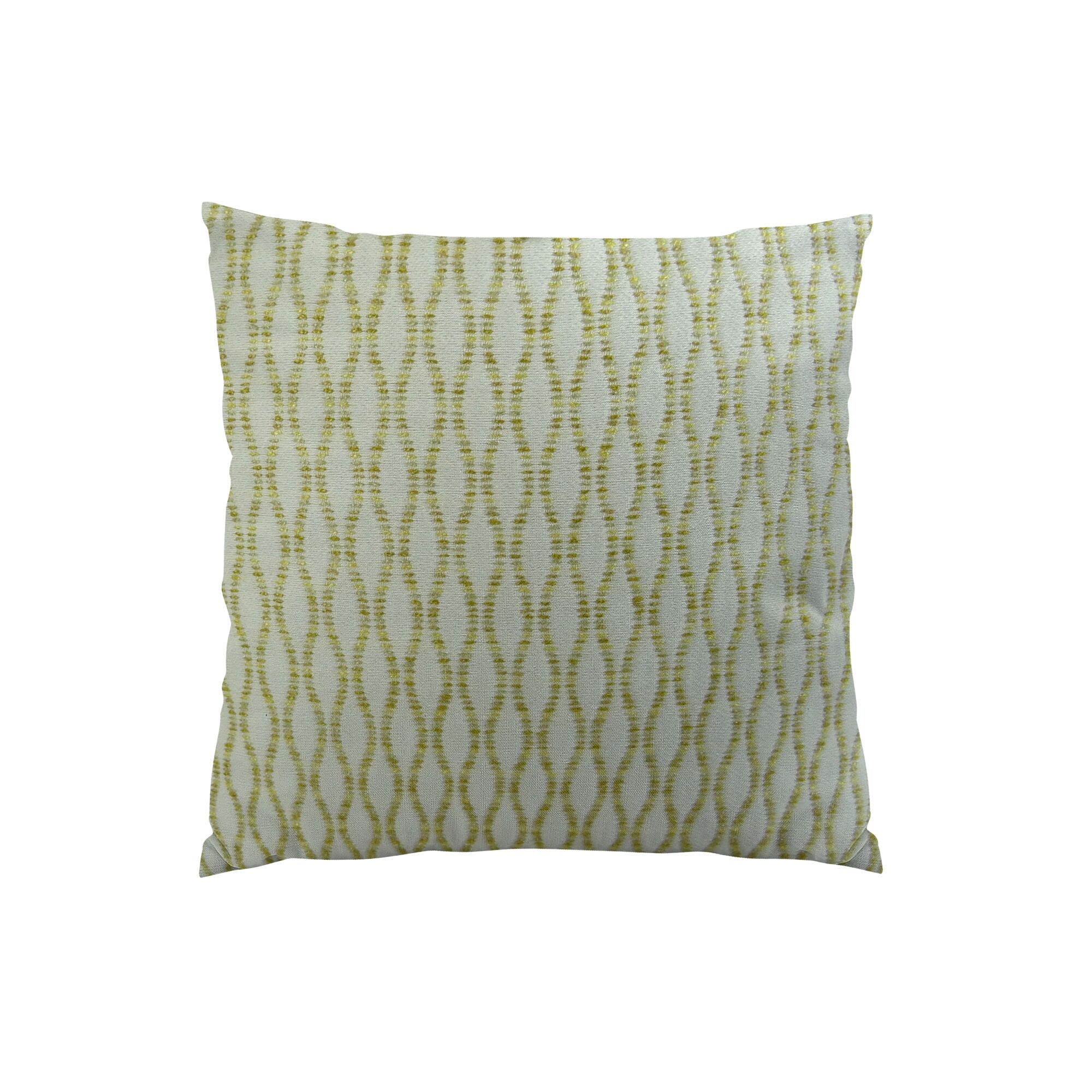 Winding Road Zest Handmade Throw Pillow  Size: 24
