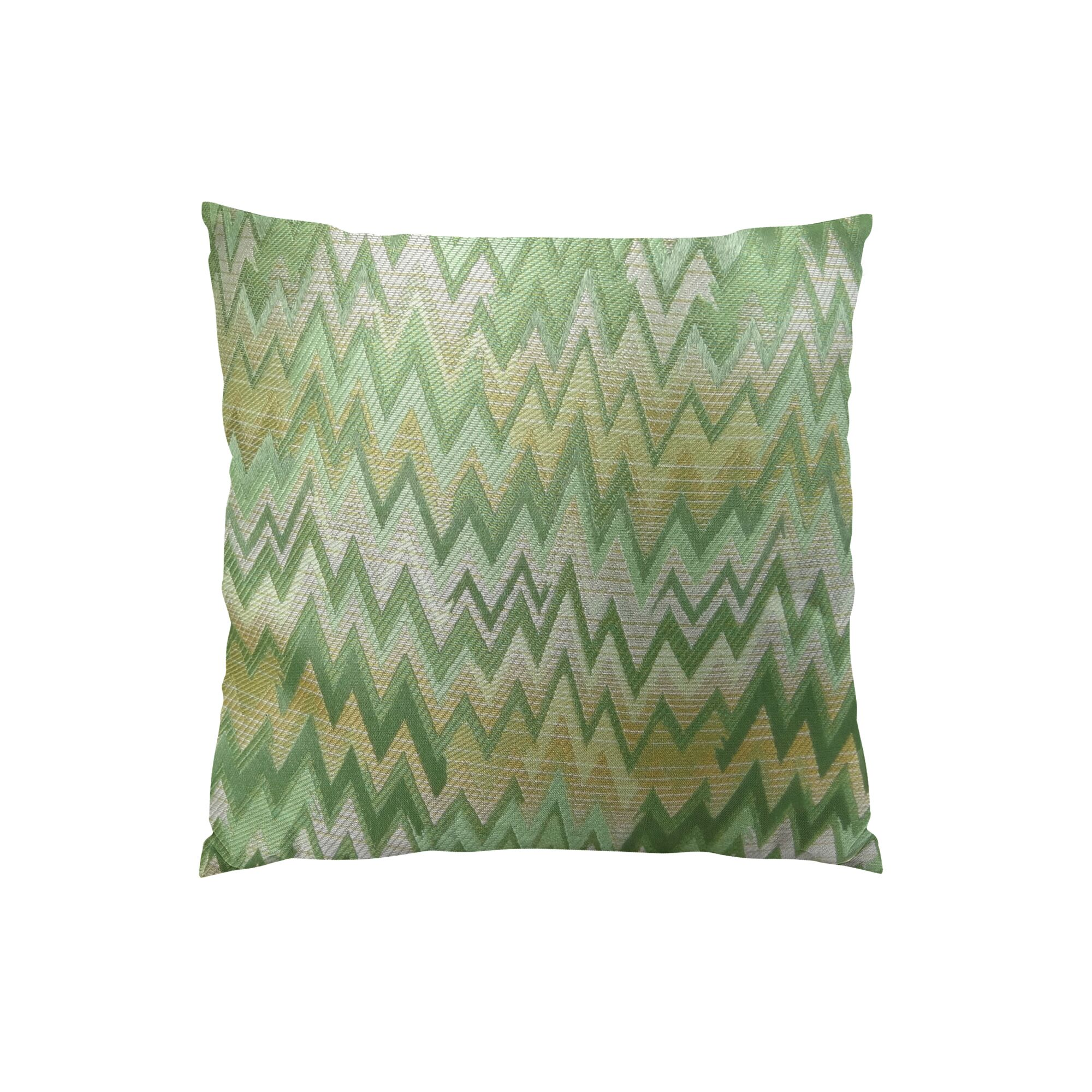 Peek Leaf Double Sided Throw Pillow Size: 16