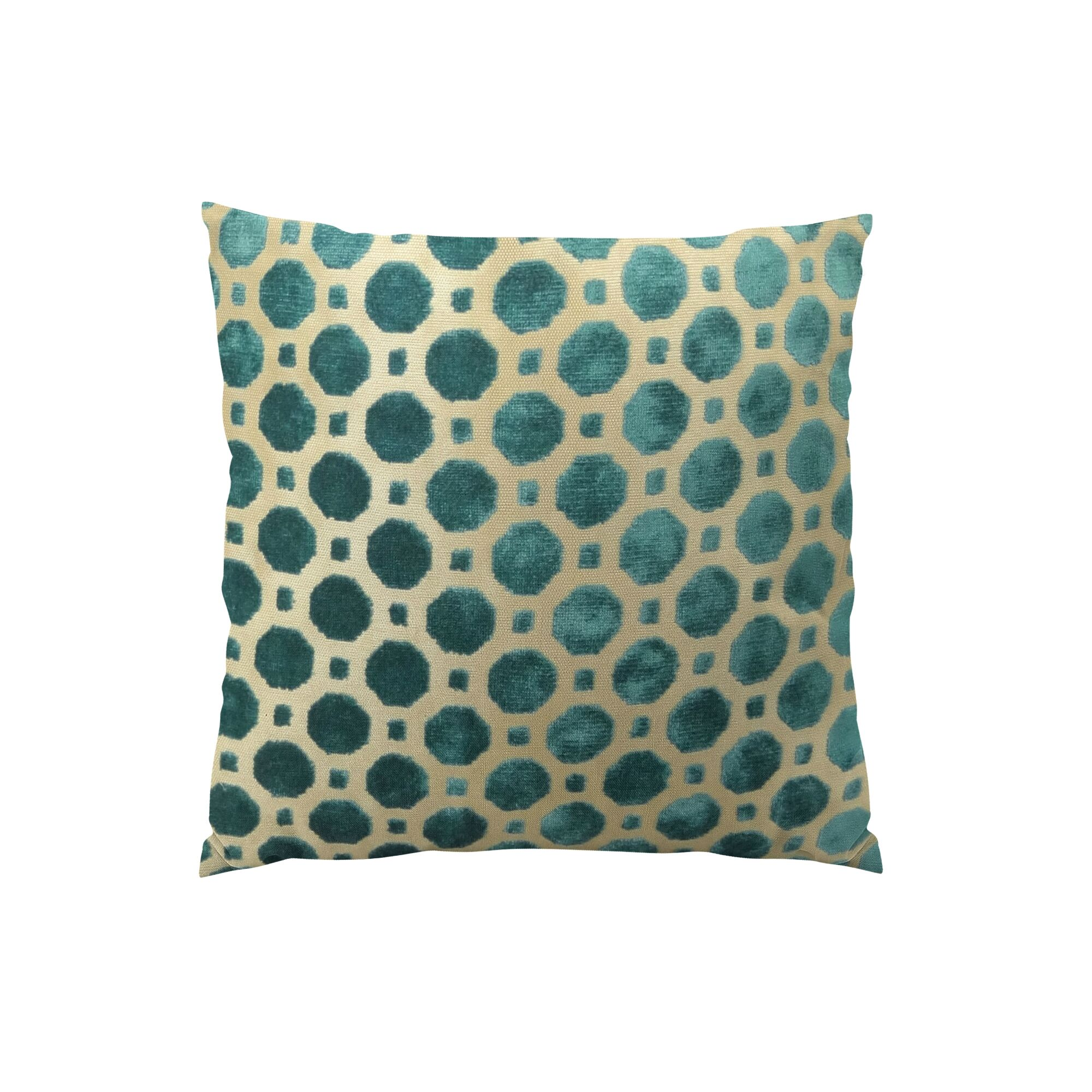 Velvet Double Sided Throw Pillow Size: 20