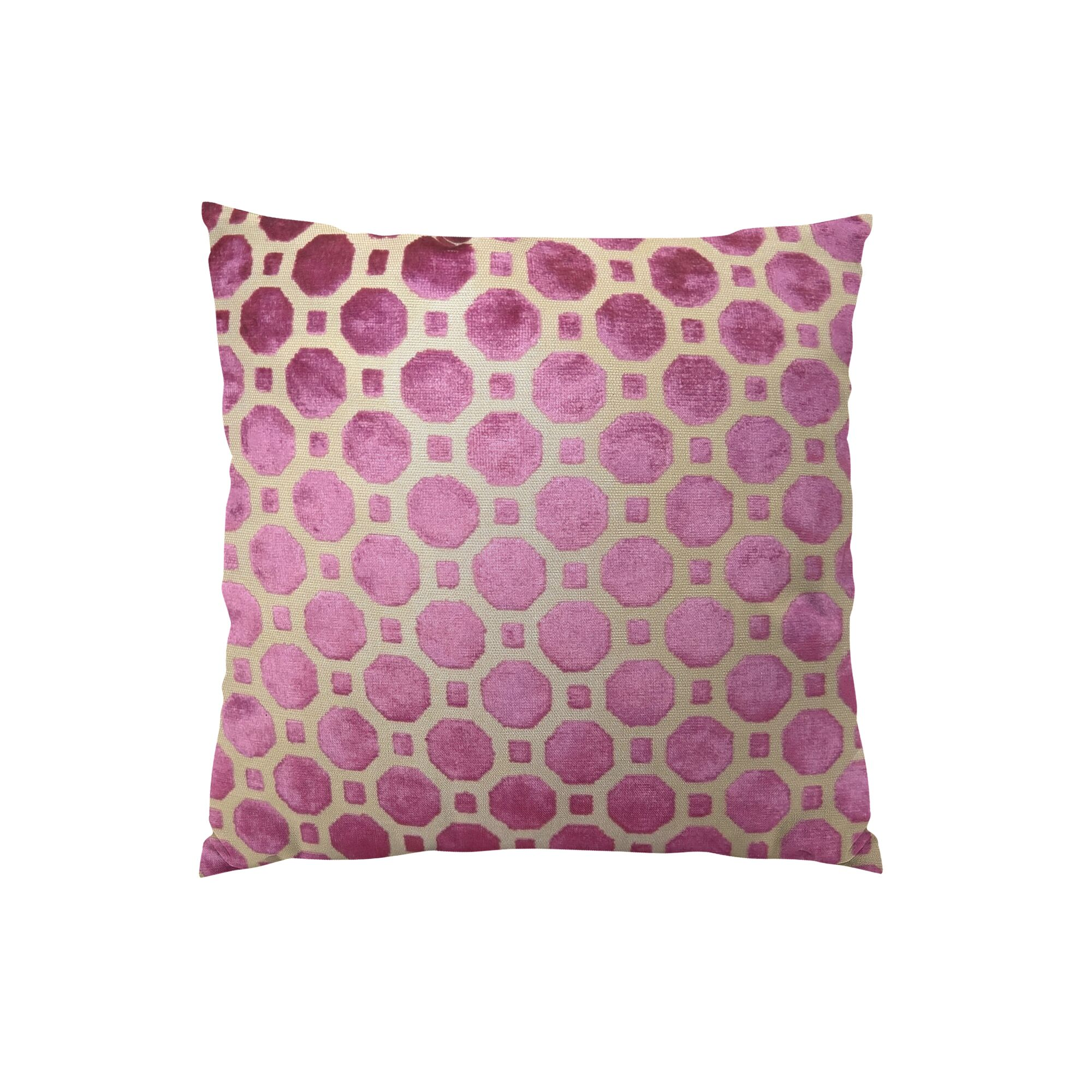 Velvet Geo Handmade Lumbar Pillow Size: 12