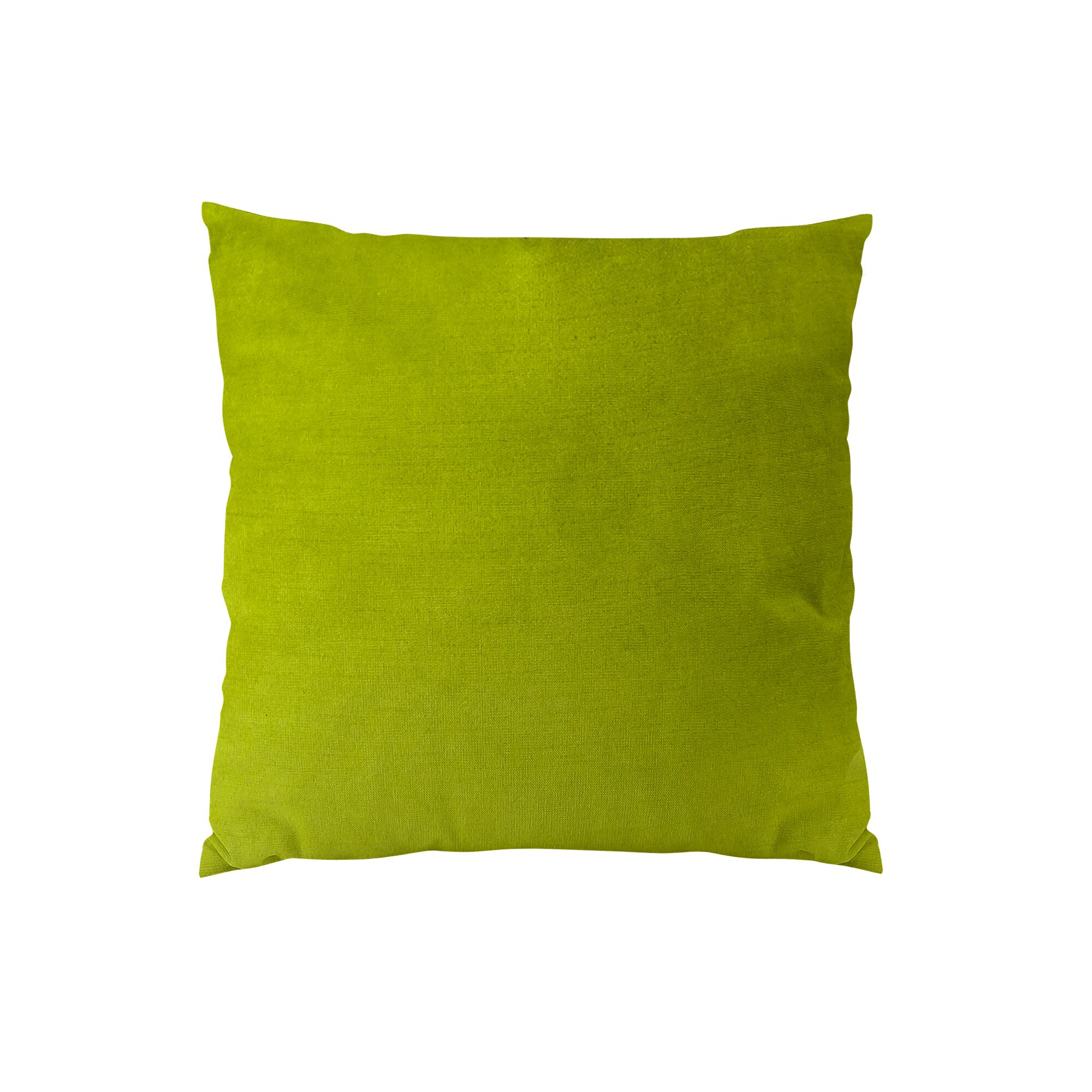 Contentment Grass Cotton Throw Pillow  Size: 18