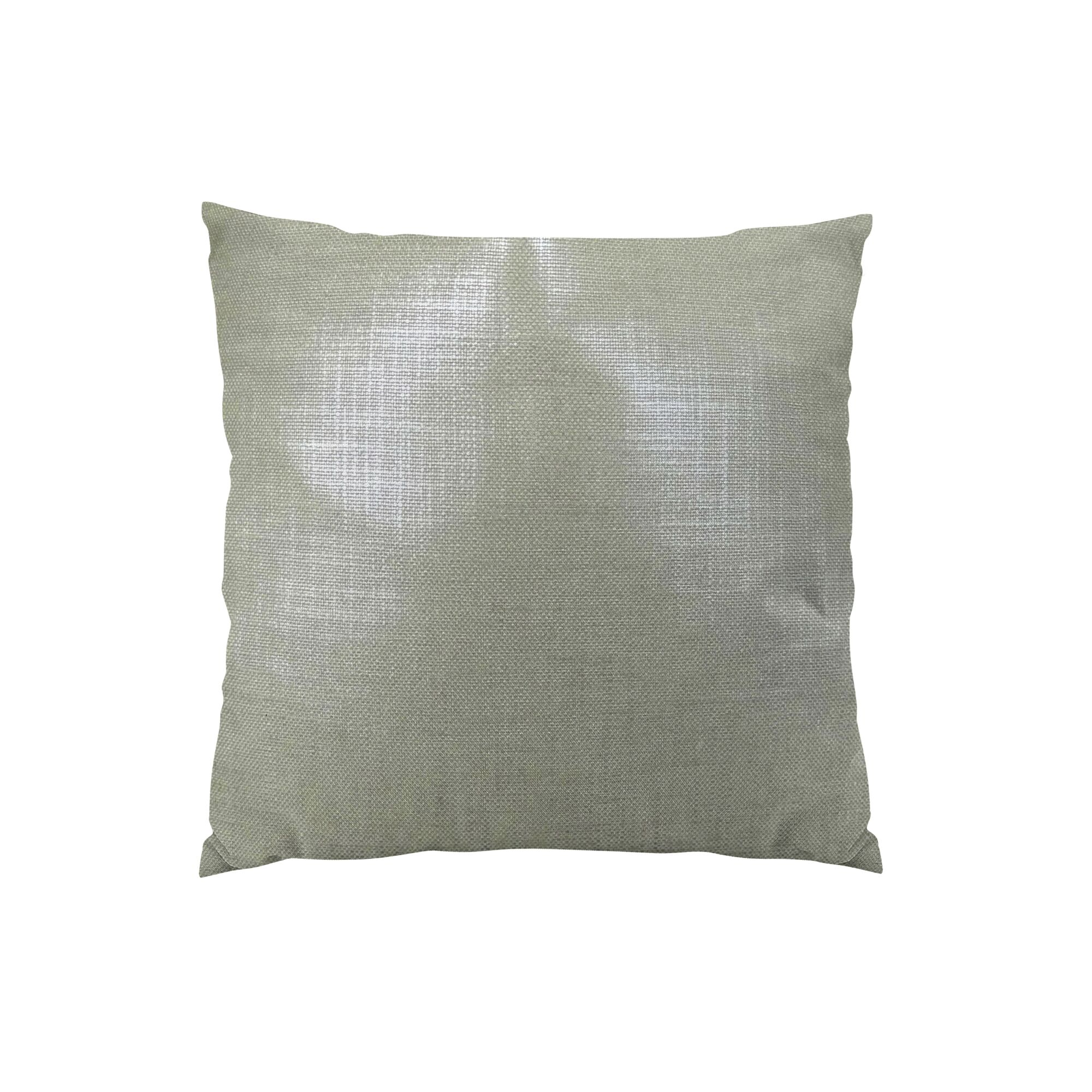 Glazed Throw Pillow Size: 18