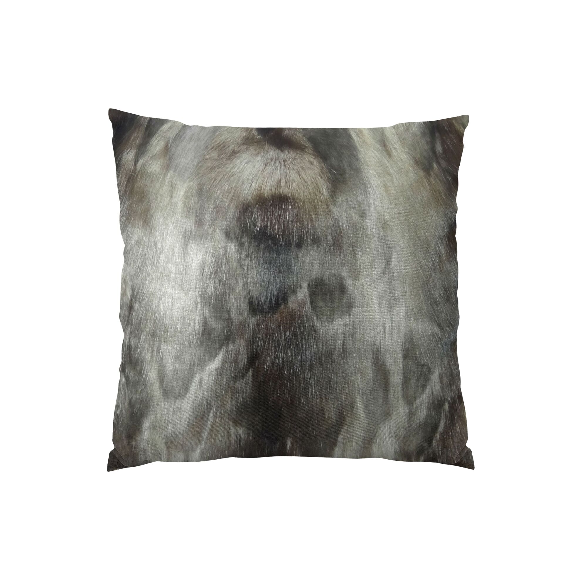 Brand Ash Handmade Throw Pillow  Size: 24