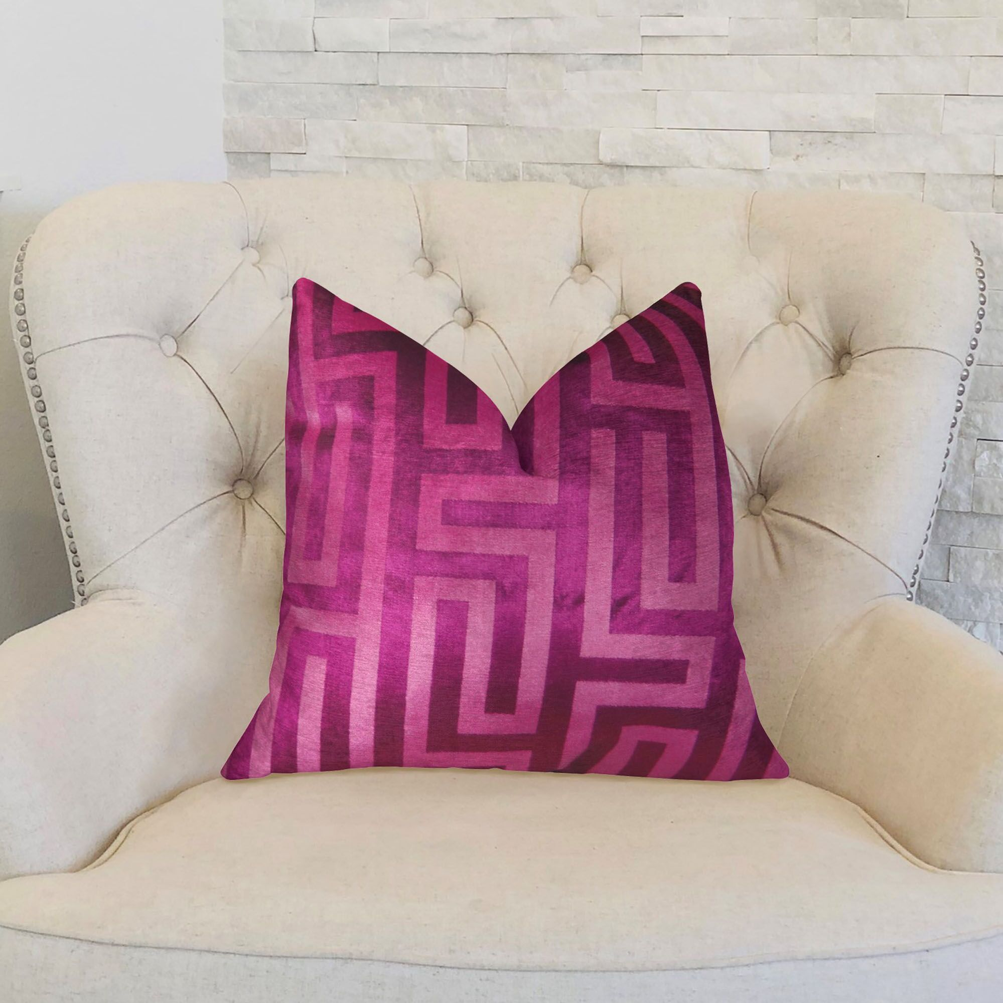 Cesire Maze Double Sided Lumbar Pillow Size: 12