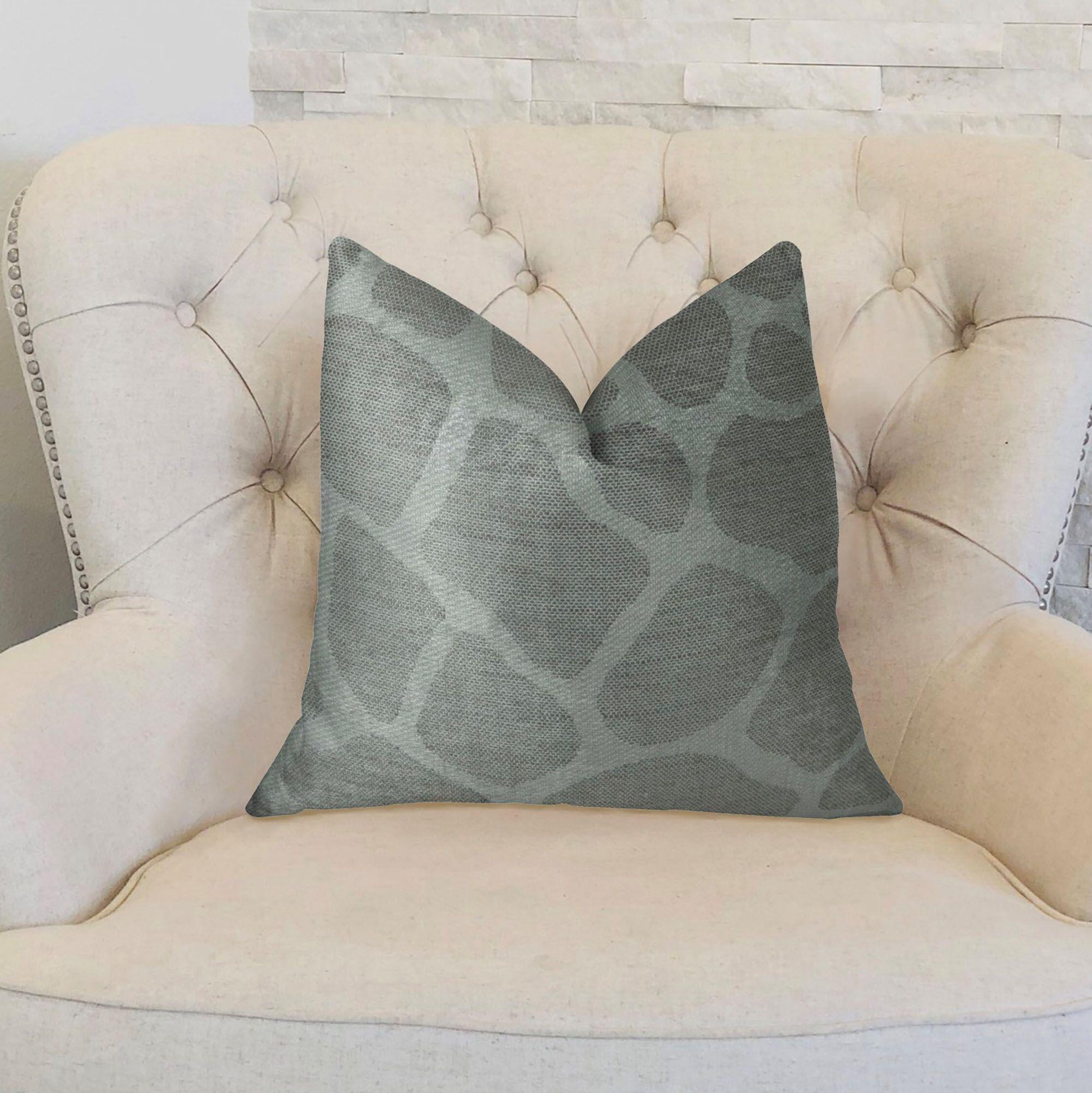 Rocky Way Handmade Throw Pillow  Size: 20