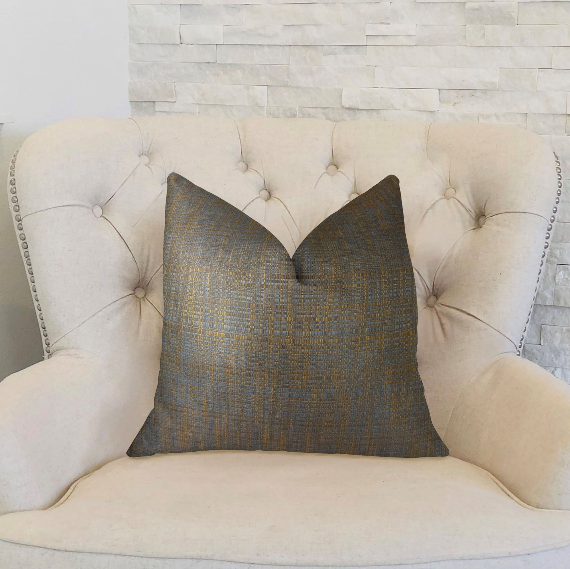 Clonamore Double Sided Throw Pillow Size: 20