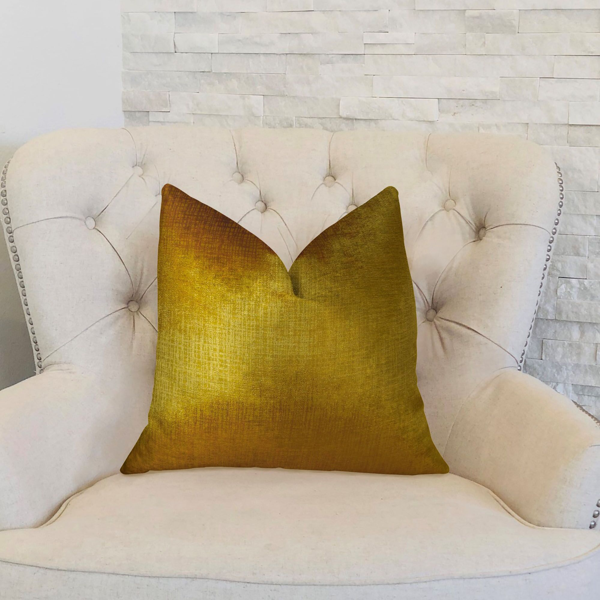 Lumiere Throw Pillow Size: 20