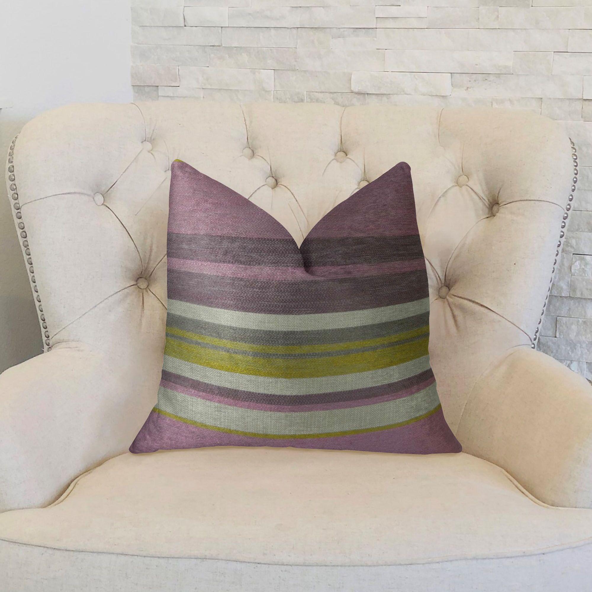 Berry Crush Handmade Throw Pillow Size: 24
